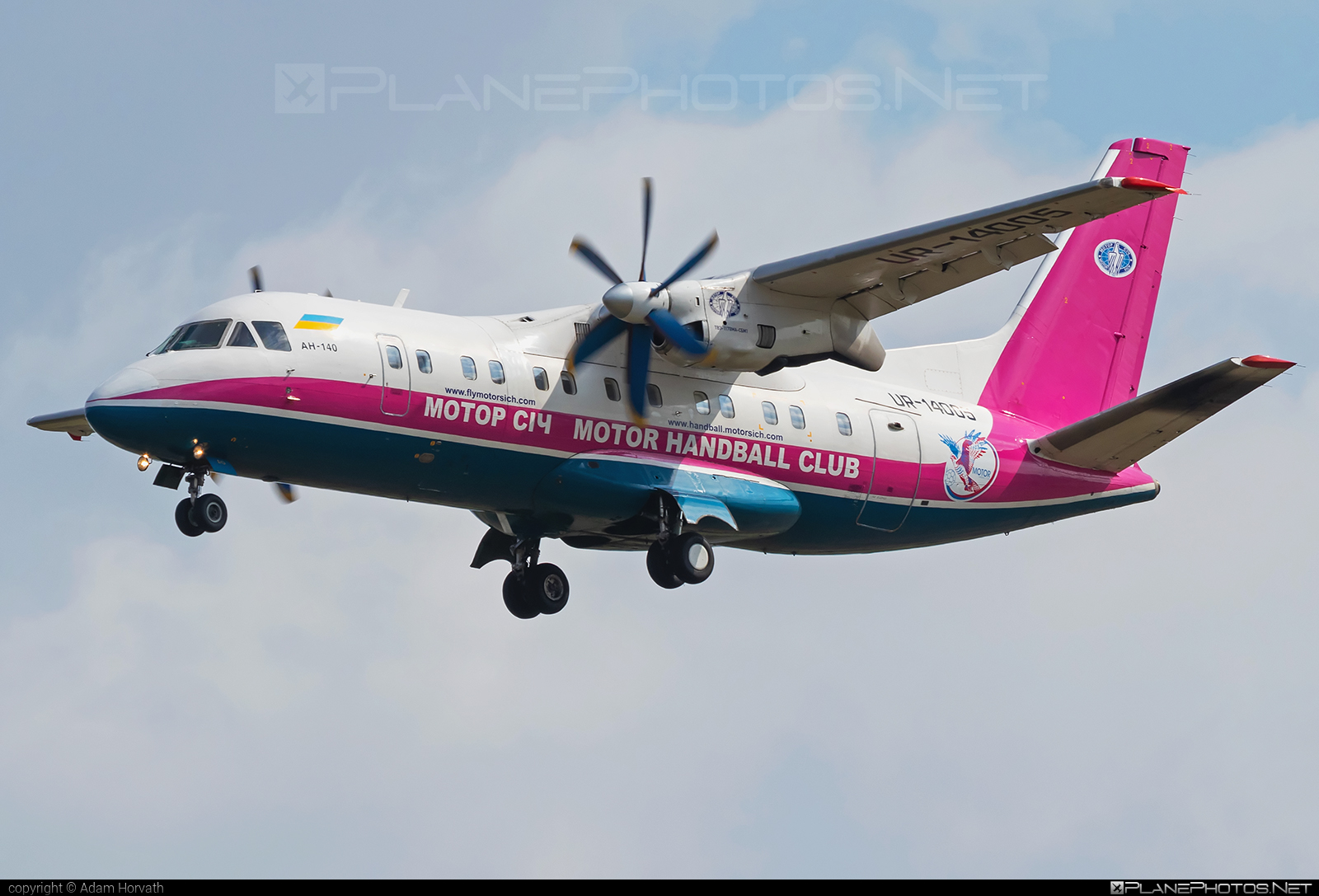 Antonov An-140-100 - UR-14005 operated by Motor Sich Airline #an140 #an140100 #antonov #antonov140