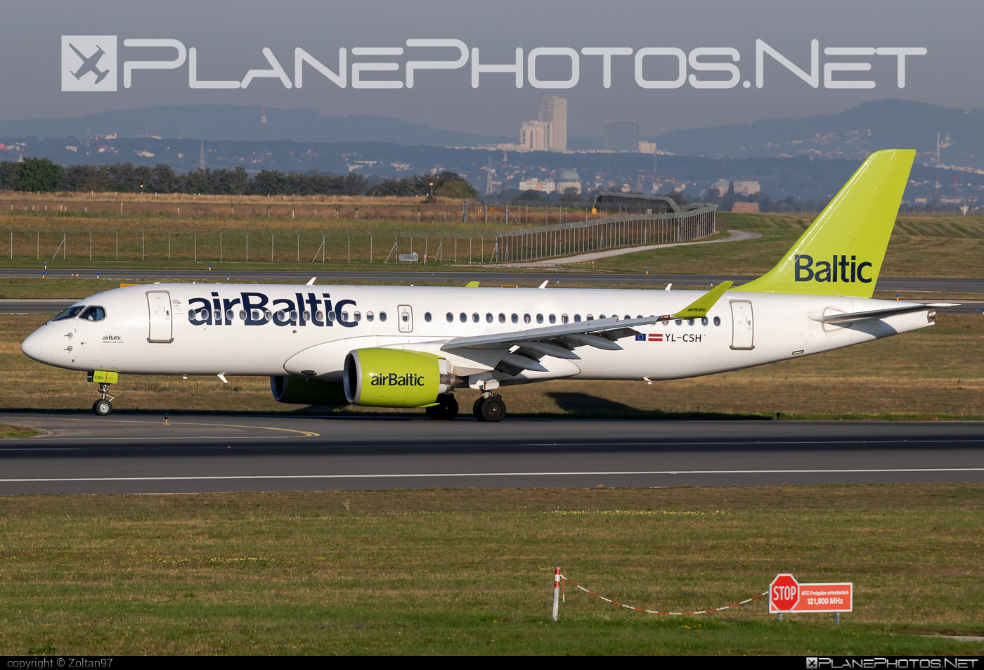 Airbus A220-300 - YL-CSH operated by Air Baltic #a220300 #a220family #airbaltic #airbus #cs300 #cseries #cseries300