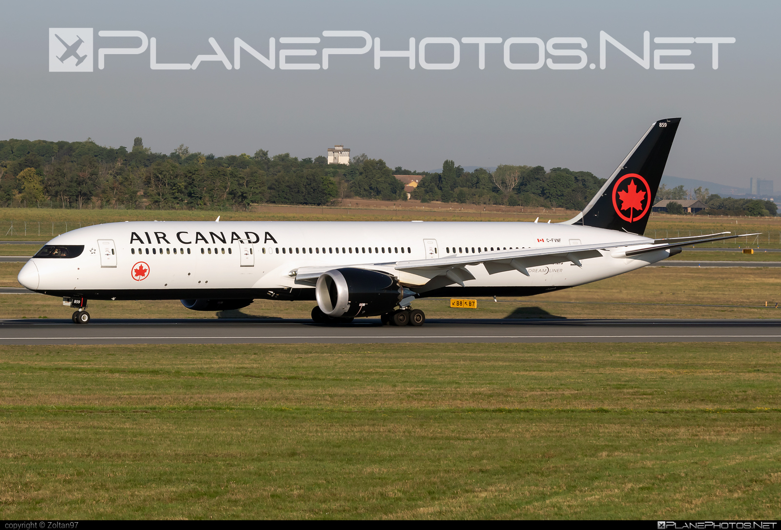 Boeing 787-9 Dreamliner - C-FVNF operated by Air Canada #aircanada #b787 #boeing #boeing787 #dreamliner