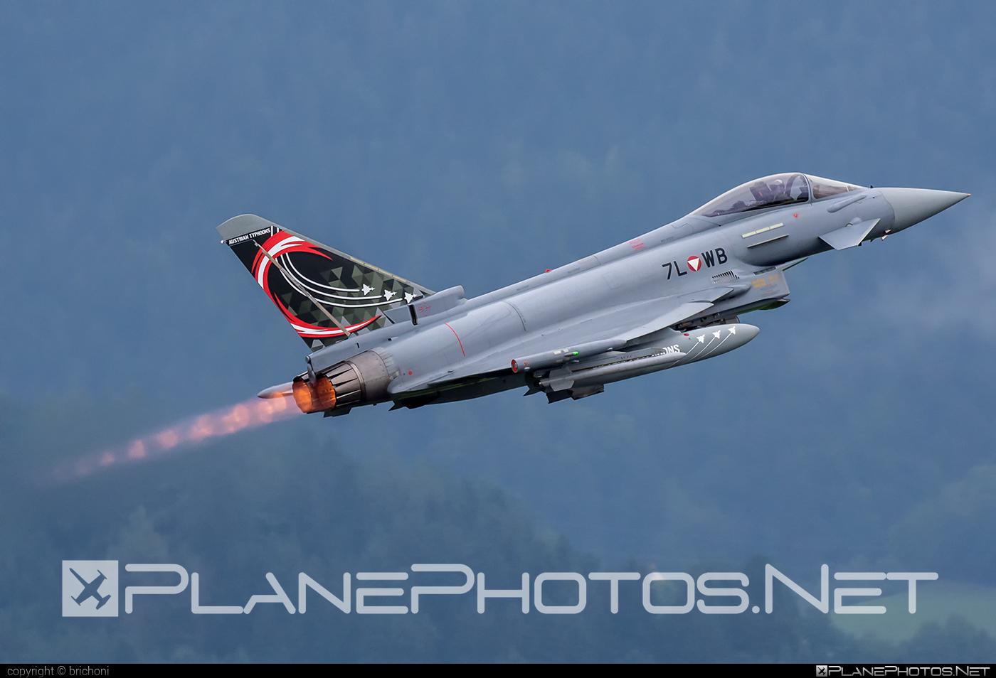 Eurofighter Typhoon S - 7L-WB operated by Österreichische Luftstreitkräfte (Austrian Air Force) #airpower2019 #austrianairforce #eurofighter #typhoon