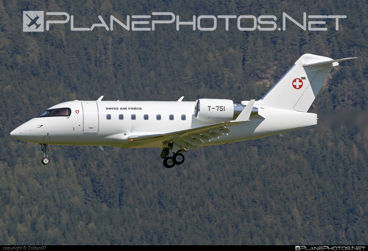 Bombardier Challenger 604 (CL-600-2B16) - T-751 operated by Schweizer Luftwaffe (Swiss Air Force) #airpower2019 #bombardier #challenger604 #cl6002b16