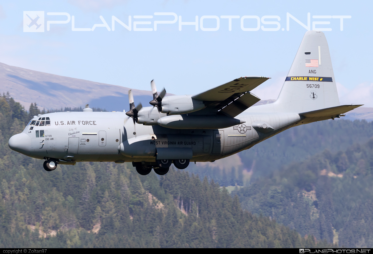 Lockheed C-130H Hercules - 95-6709 operated by US Air Force (USAF) #airpower2019 #lockheed #usaf #usairforce