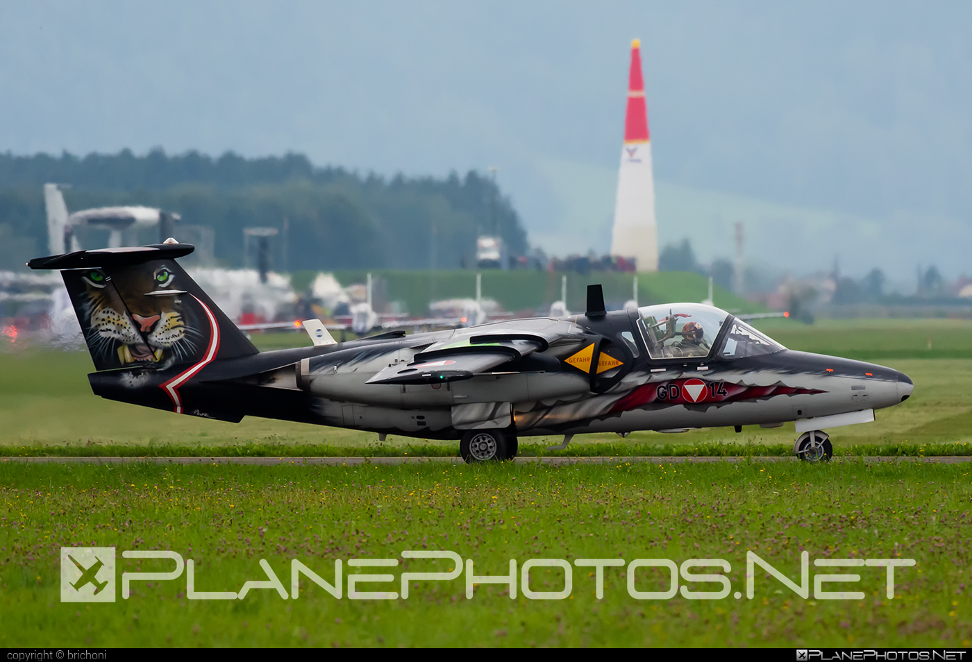 Saab 105OE - GD-14 operated by Österreichische Luftstreitkräfte (Austrian Air Force) #airpower2019 #austrianairforce #saab