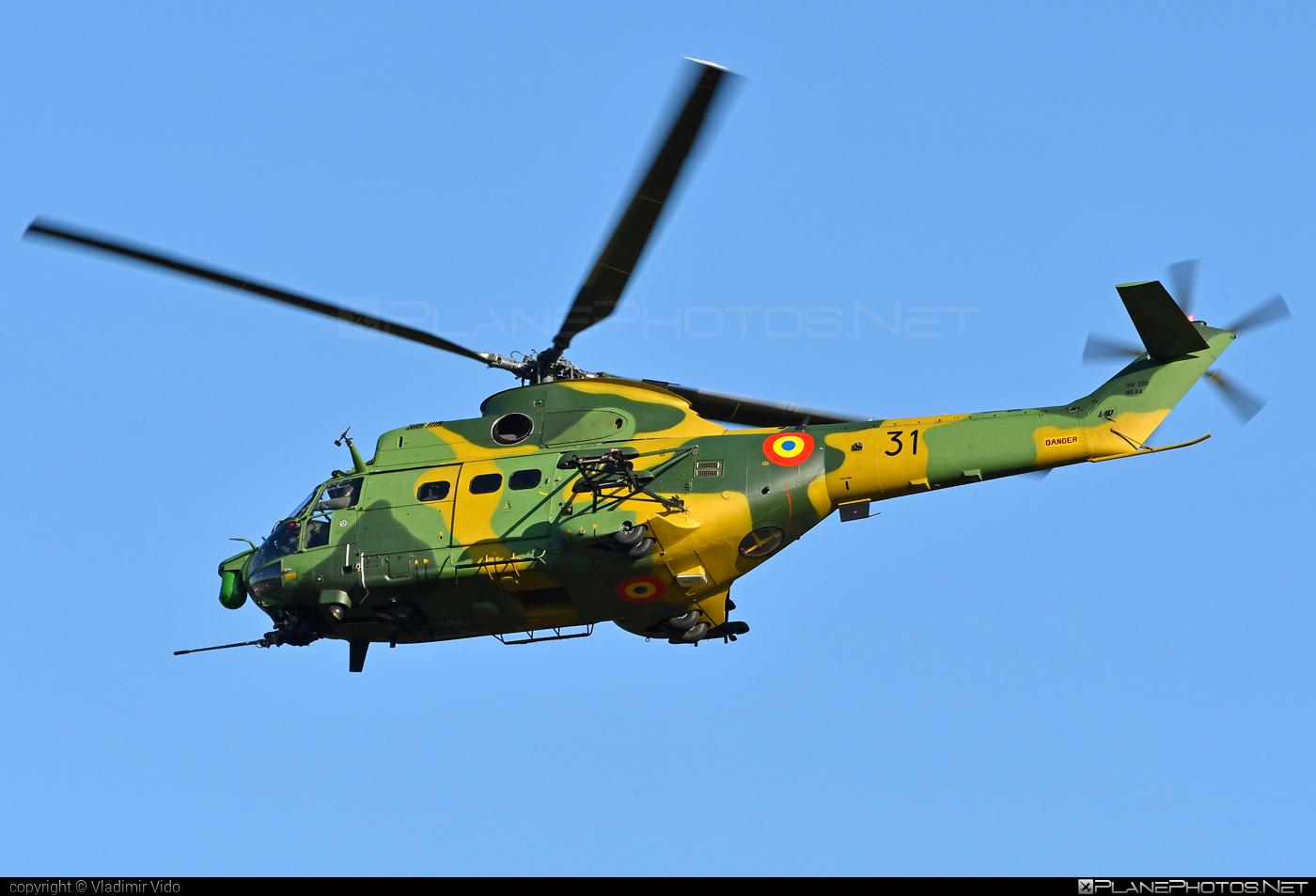 IAR IAR-330L Puma SOCAT - 31 operated by Forţele Aeriene Române (Romanian Air Force) #forteleaerieneromane #romanianairforce