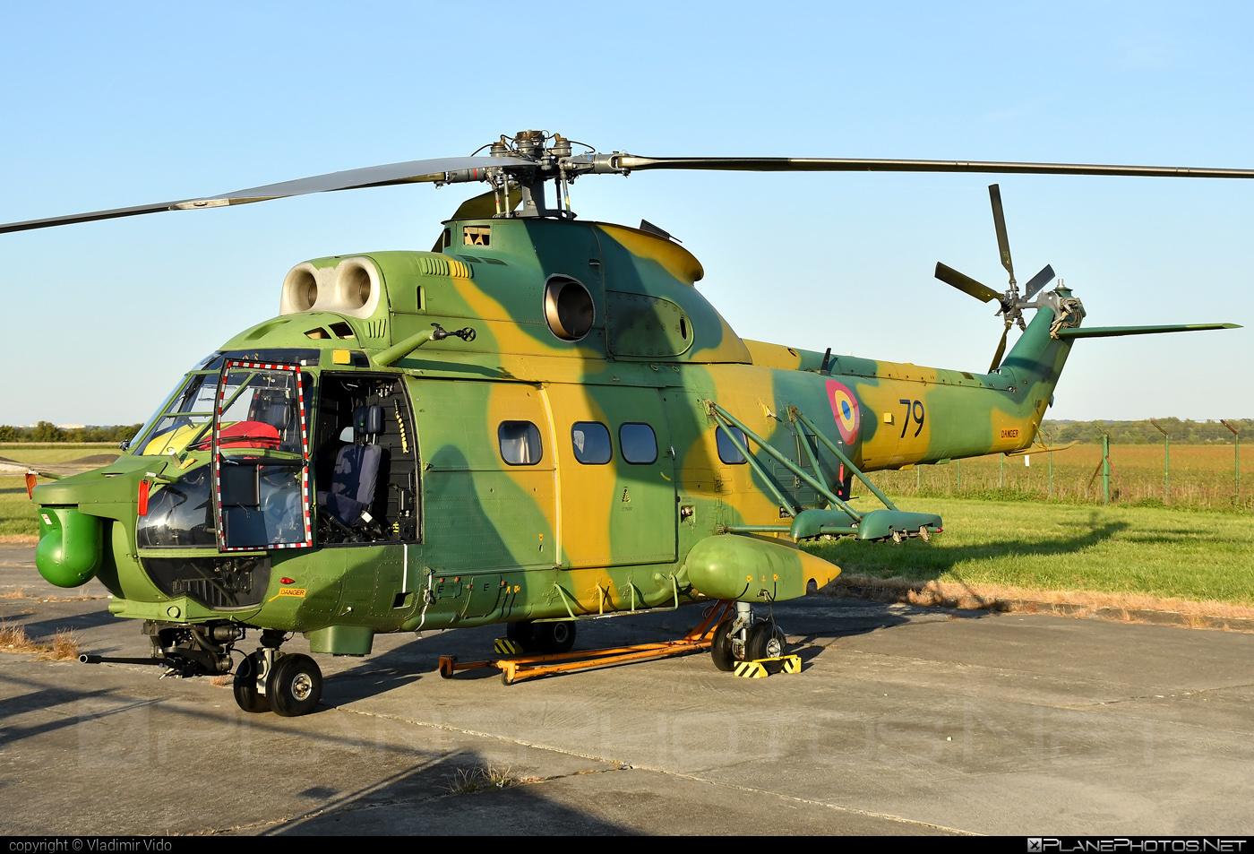 IAR IAR-330L Puma SOCAT - 79 operated by Forţele Aeriene Române (Romanian Air Force) #forteleaerieneromane #romanianairforce