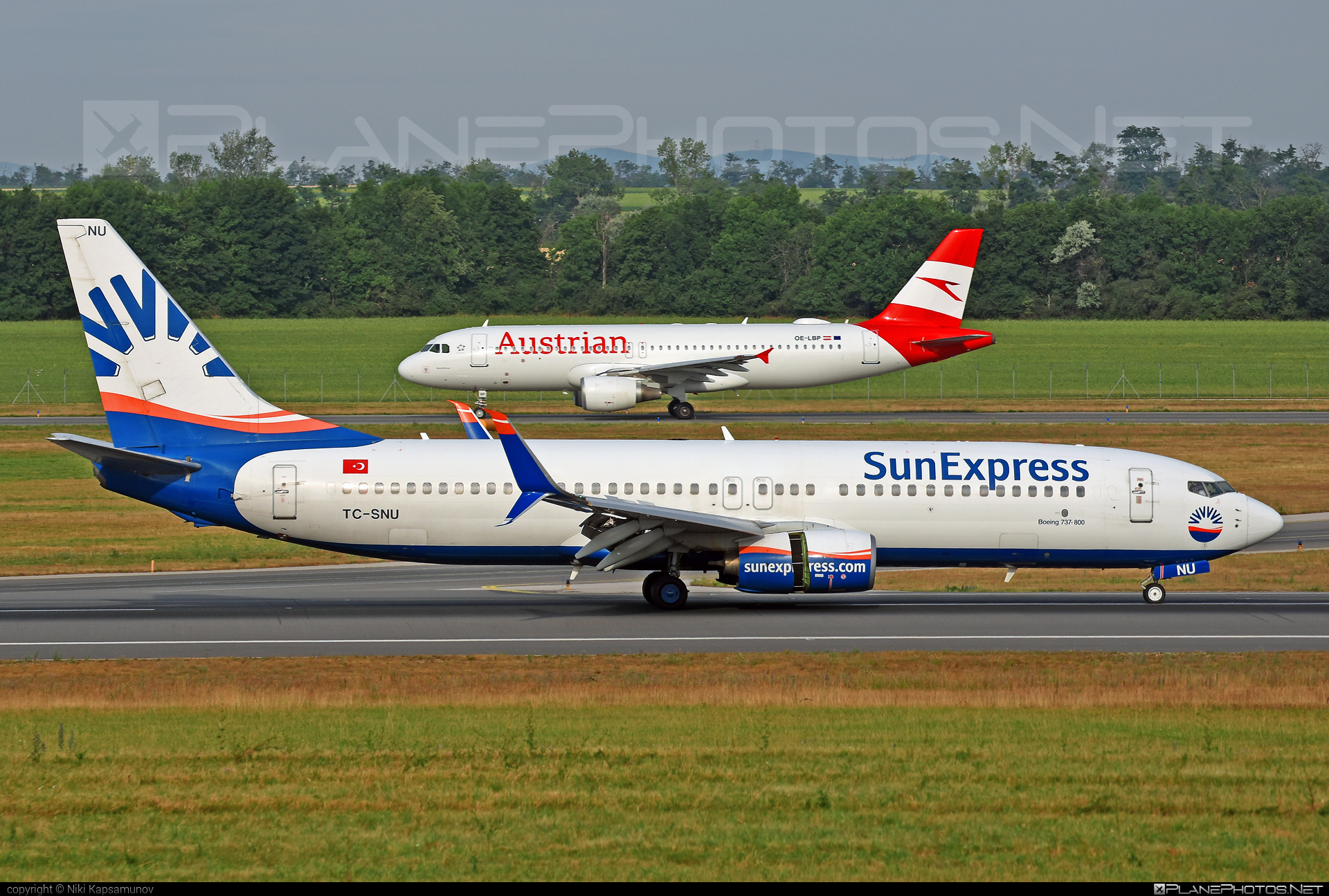 Boeing 737-800 - TC-SNU operated by SunExpress #b737 #b737nextgen #b737ng #boeing #boeing737 #sunexpress