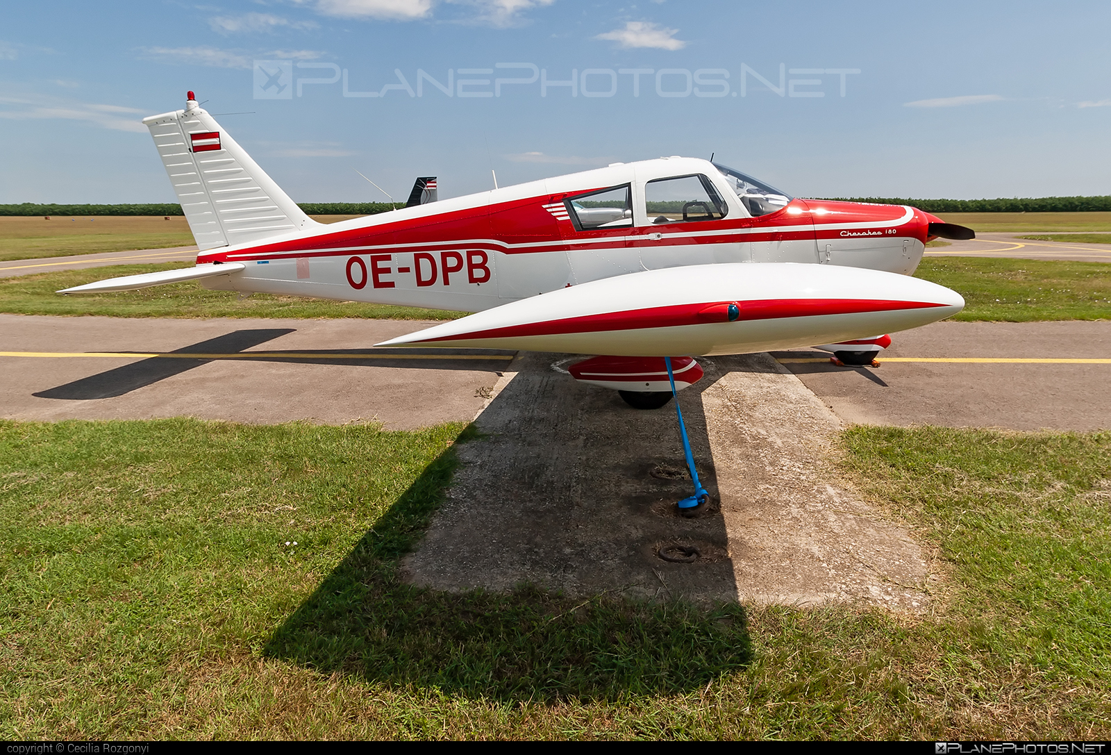 Piper PA-28-180 Cherokee - OE-DPB operated by Private operator #piper