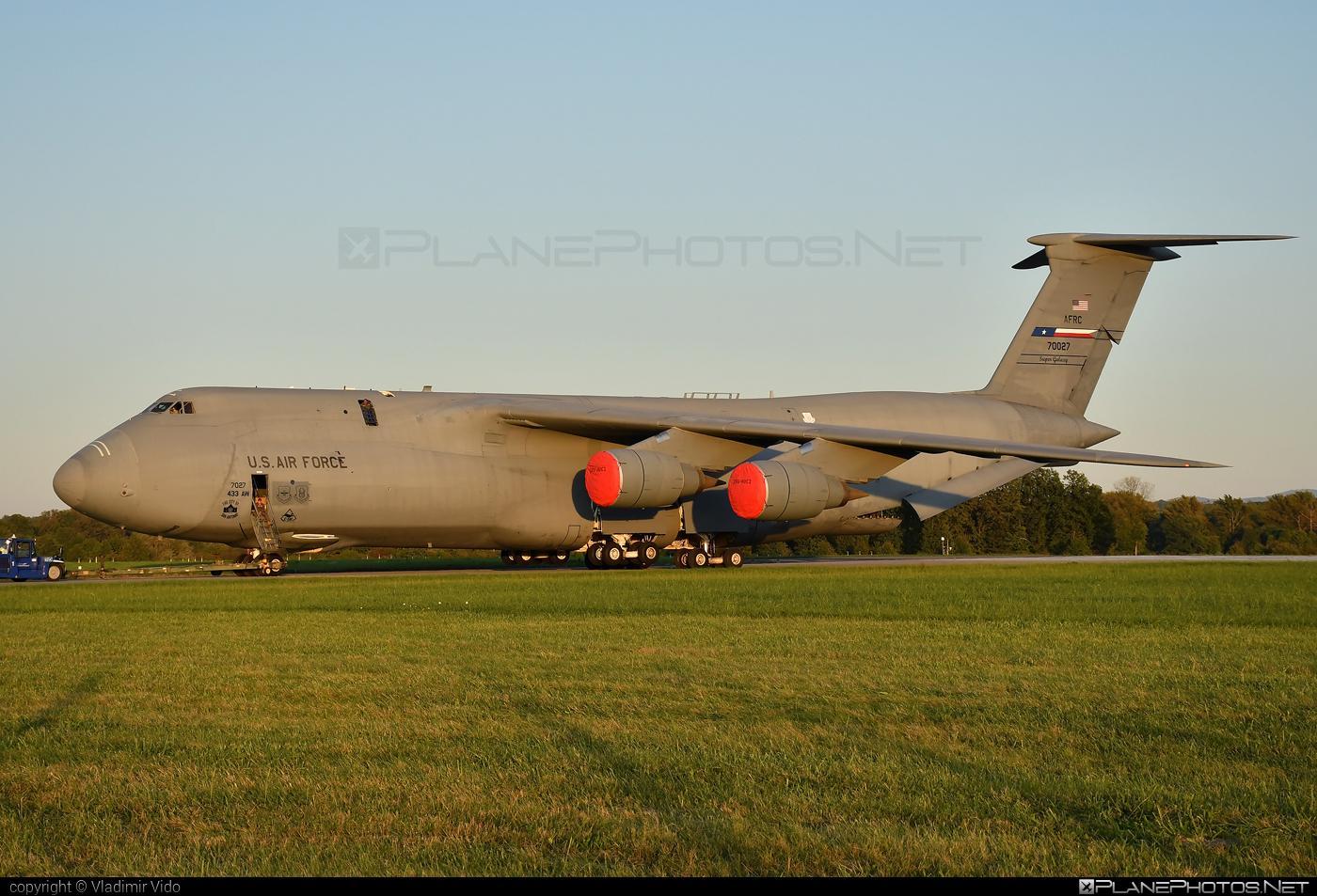 Lockheed C-5M Super Galaxy - 87-0027 operated by US Air Force (USAF) #lockheed #usaf #usairforce
