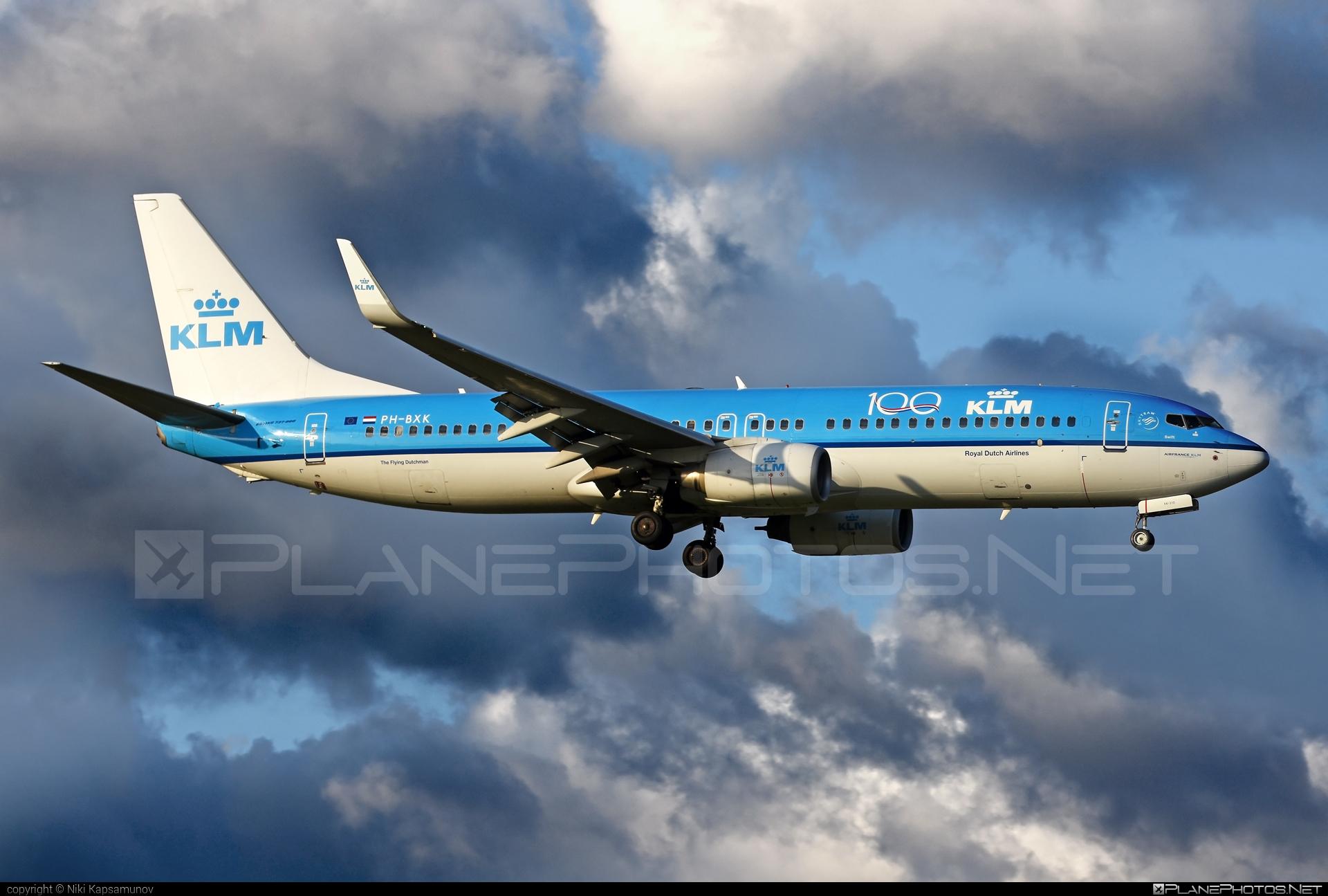 Boeing 737-800 - PH-BXK operated by KLM Royal Dutch Airlines #b737 #b737nextgen #b737ng #boeing #boeing737 #klm #klmroyaldutchairlines #royaldutchairlines