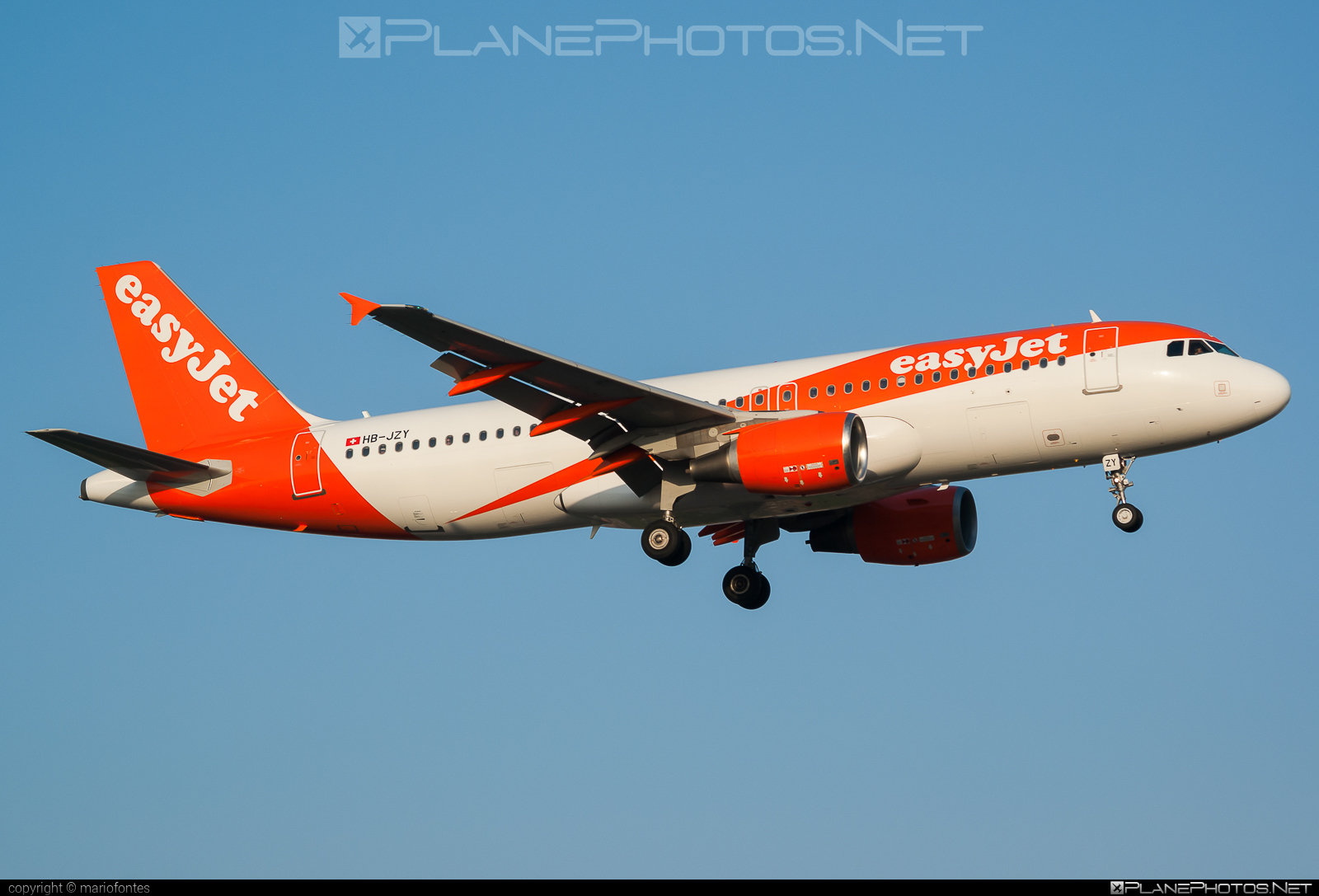 Airbus A320-214 - HB-JZY operated by easyJet Switzerland #a320 #a320family #airbus #airbus320 #easyjet #easyjetswitzerland