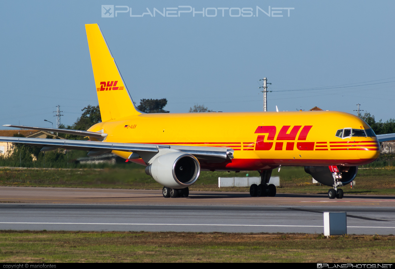 Boeing 757-200PCF - D-ALES operated by DHL (European Air Transport) #b757 #b757200pcf #b757pcf #boeing #boeing757 #boeing757200pcf #boeing757pcf