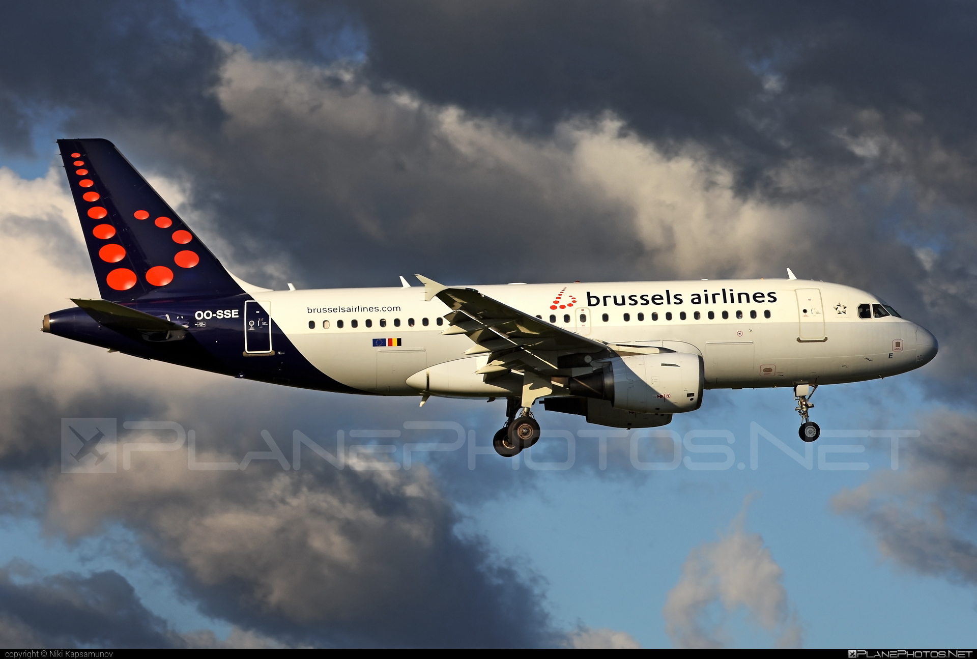 Airbus A319-111 - OO-SSE operated by Brussels Airlines #a319 #a320family #airbus #airbus319 #brusselsairlines