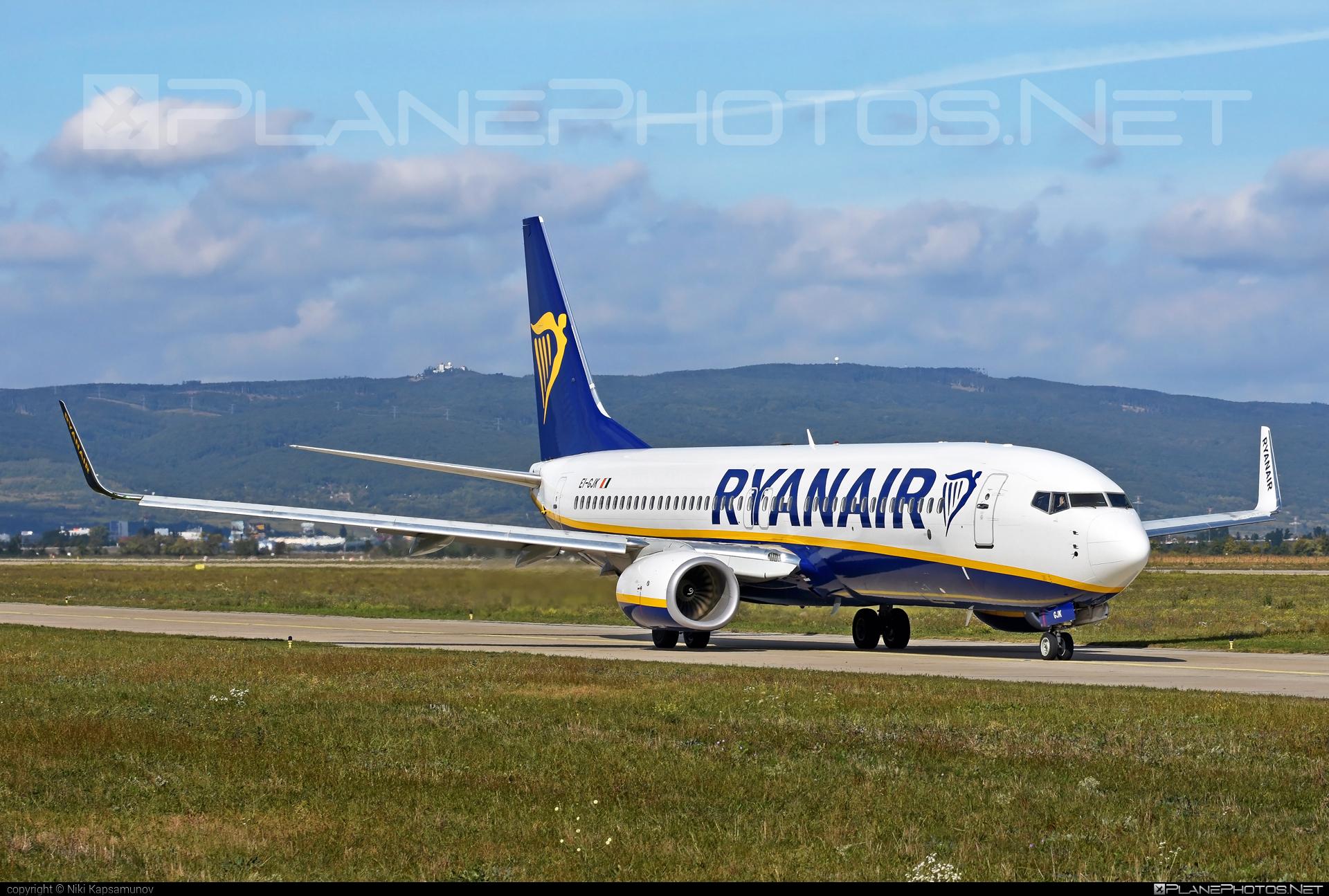 Boeing 737-800 - EI-GJK operated by Ryanair #b737 #b737nextgen #b737ng #boeing #boeing737 #ryanair