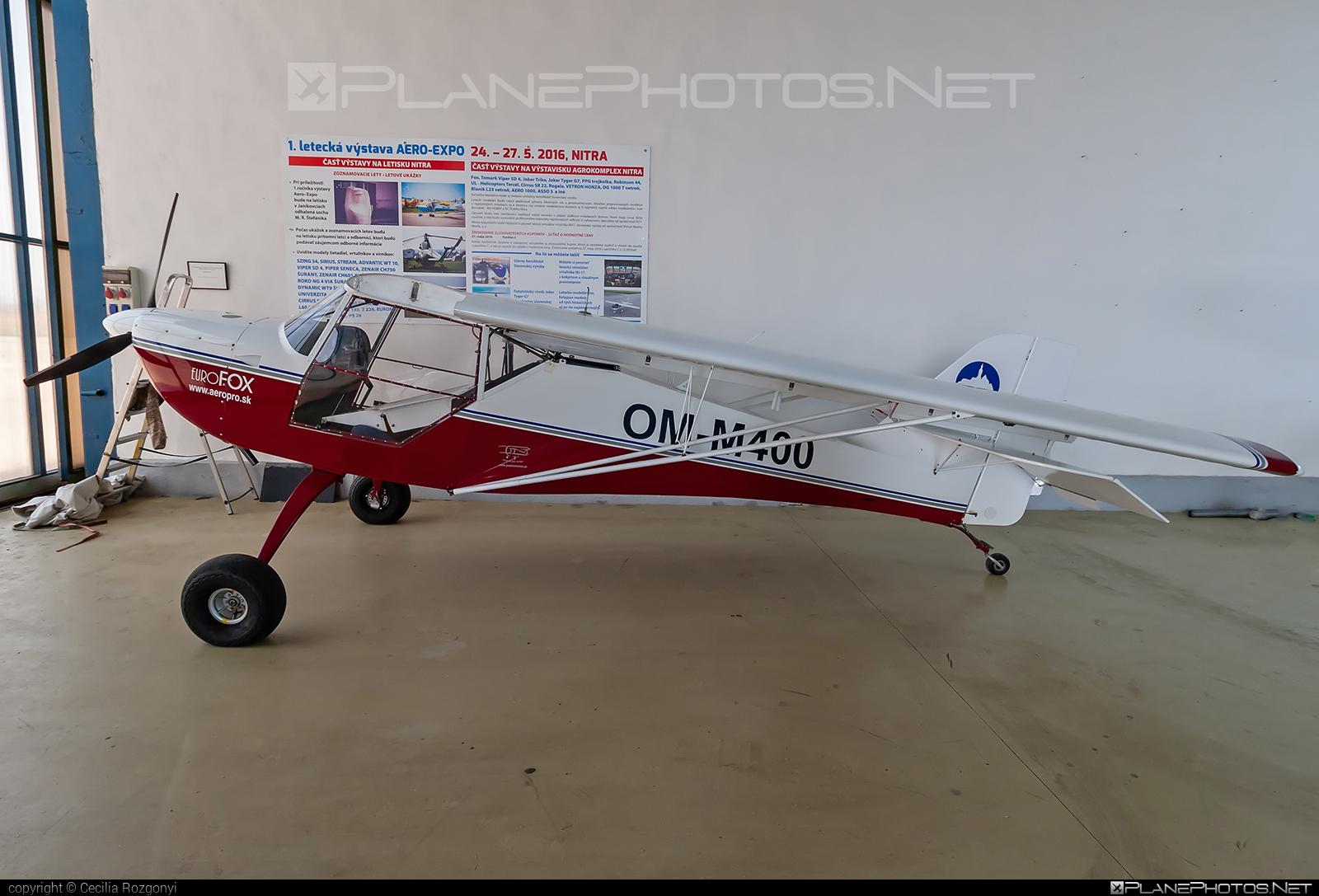 Aeropro EuroFOX 2K - OM-M400 operated by Private operator #eurofox #eurofox2k #fox