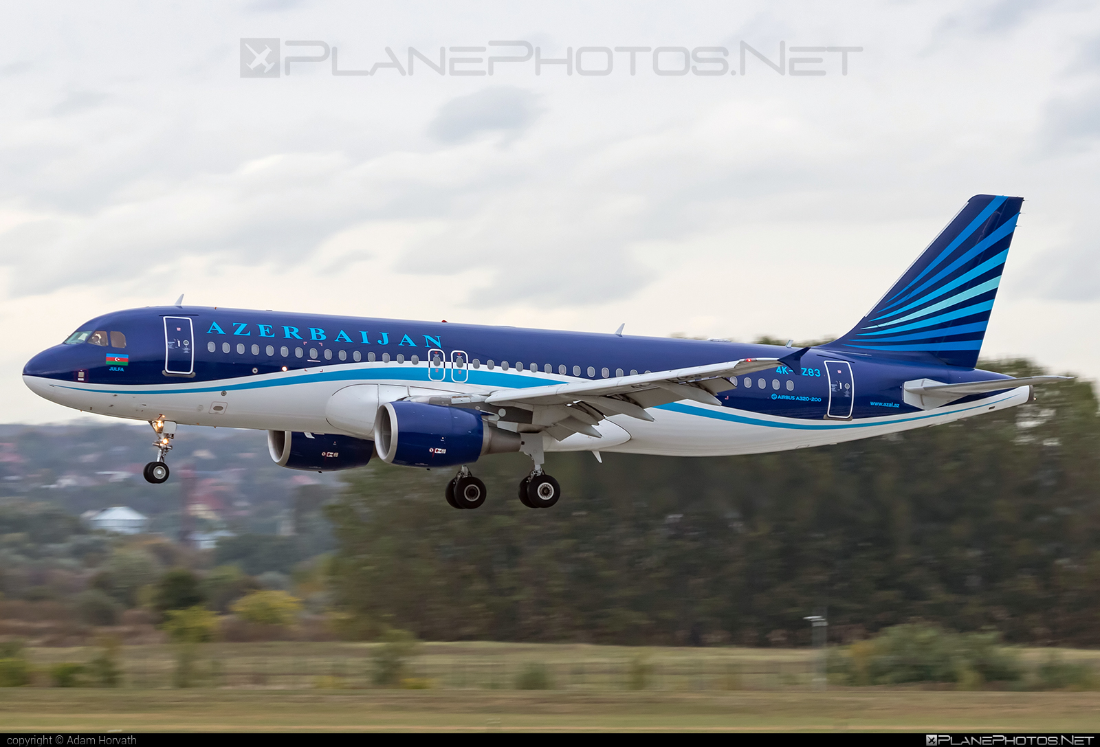 Airbus A320-214 - 4K-AZ83 operated by AZAL Azerbaijan Airlines #a320 #a320family #airbus #airbus320