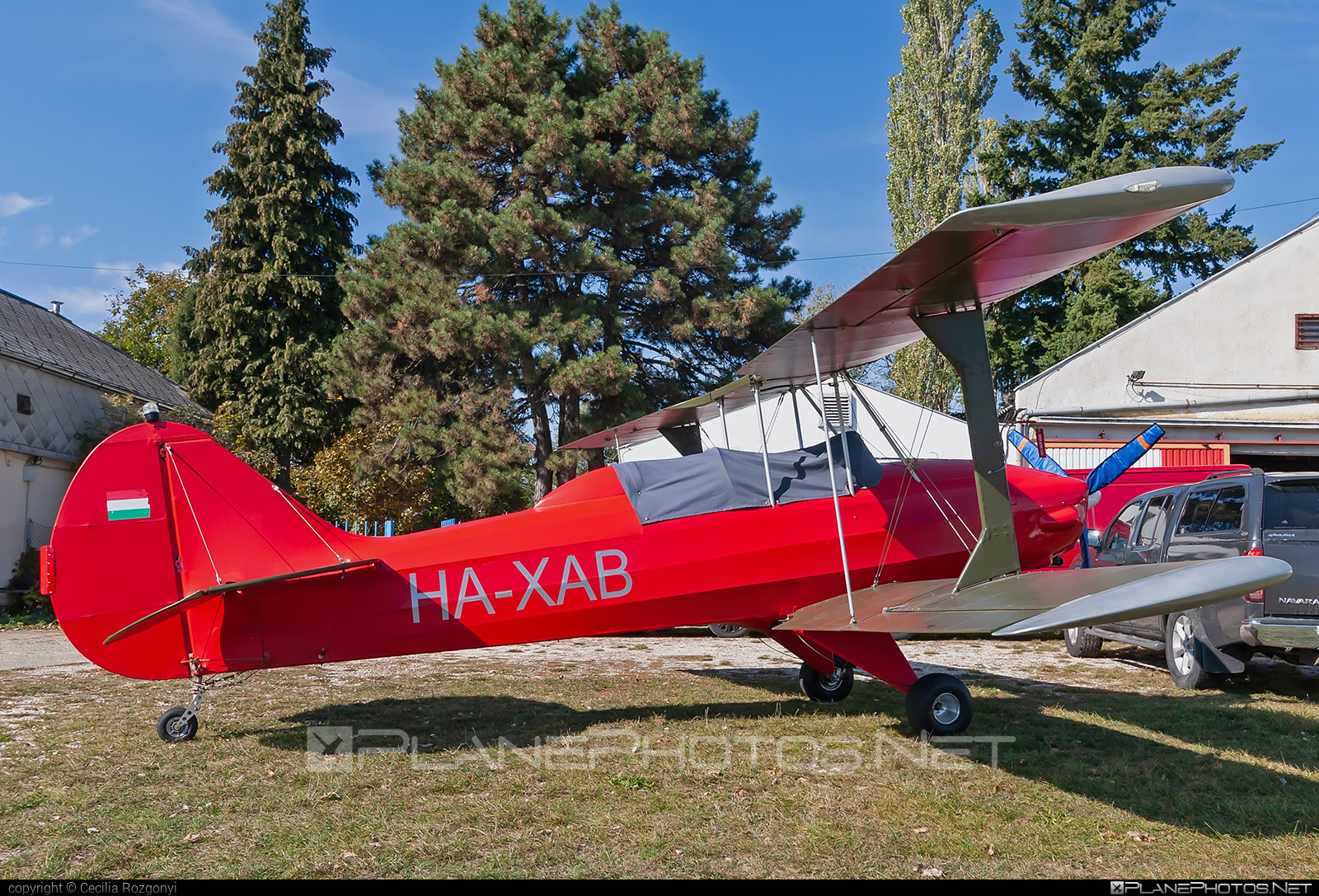 Tiger Cup Developments Sherwood Ranger XP - HA-XAB operated by Private operator #sherwoodranger #sherwoodrangerxp #tigercupdevelopments