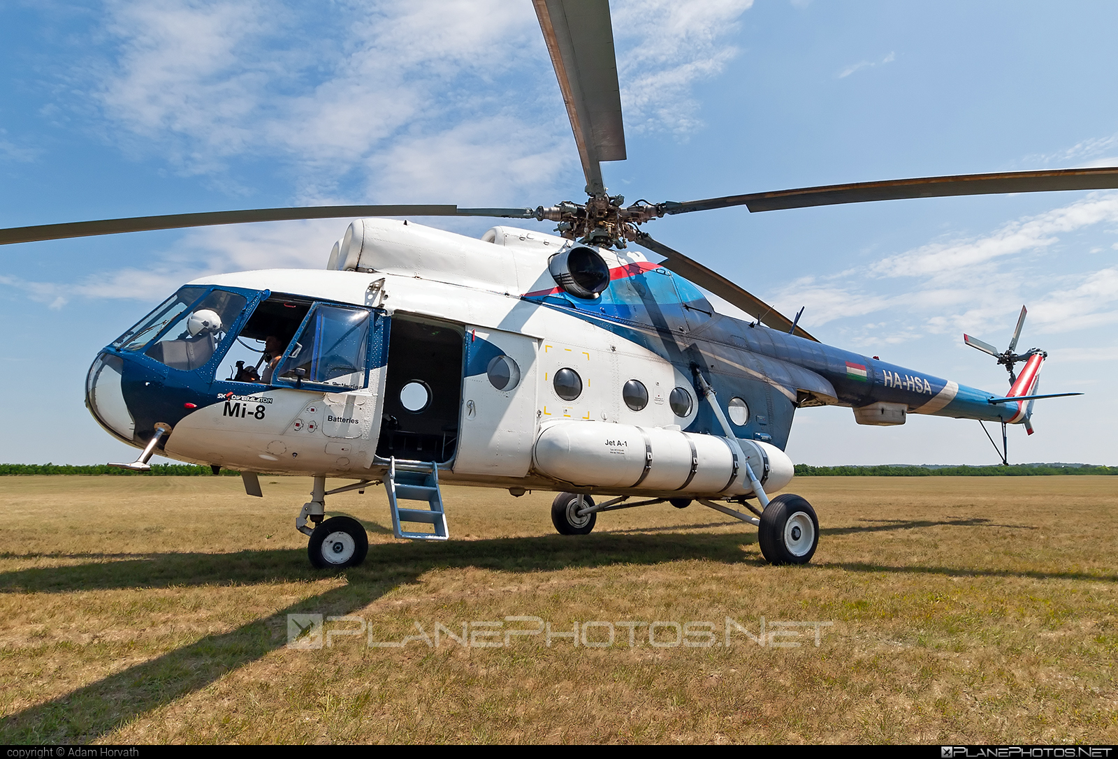 Mil Mi-8T - HA-HSA operated by Artic Group Kft. #articgroupkft #mil #milhelicopters
