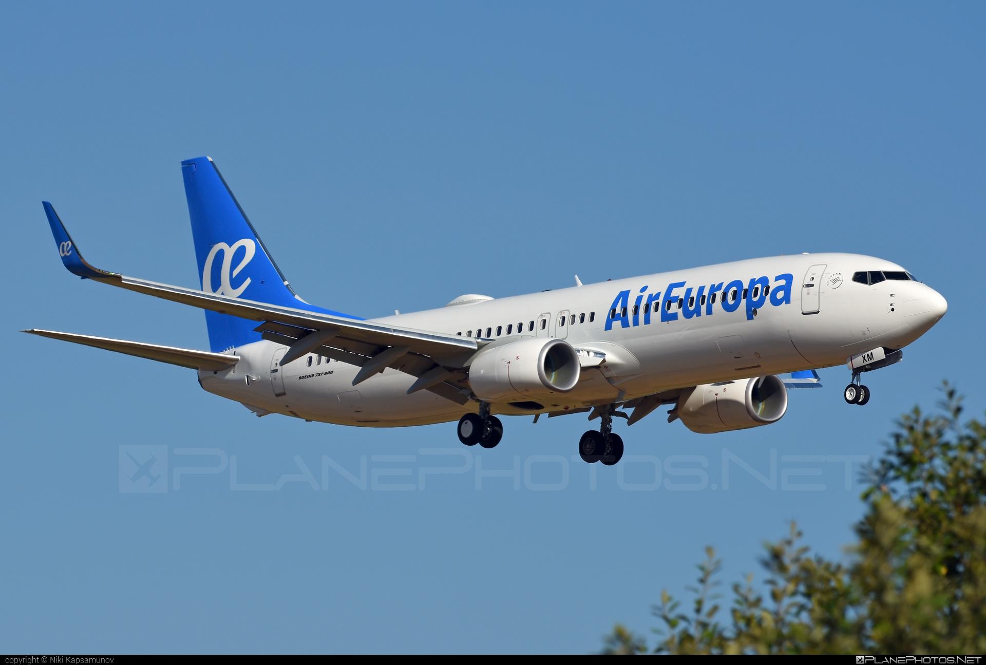 Boeing 737-800 - EC-MXM operated by Air Europa #b737 #b737nextgen #b737ng #boeing #boeing737