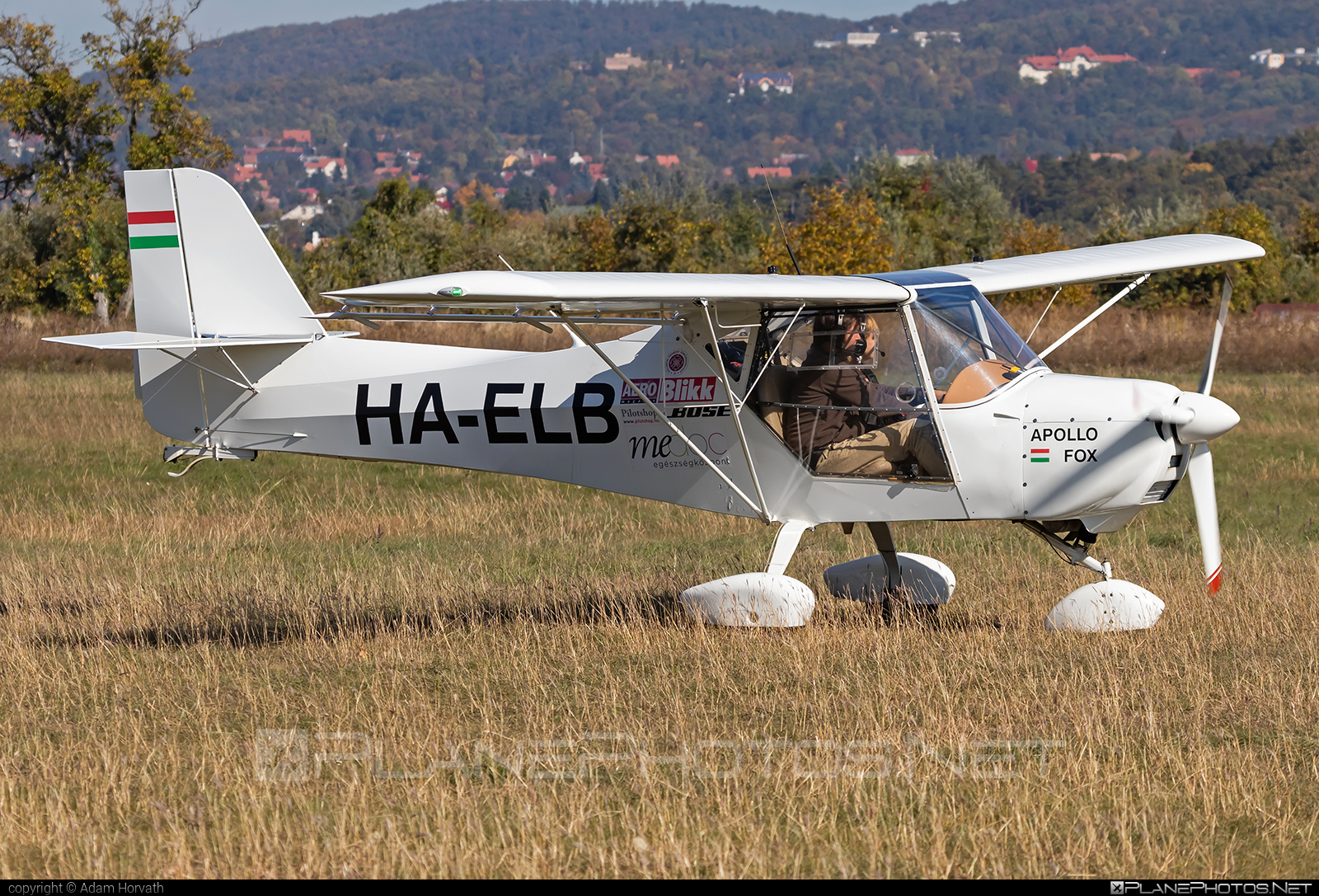 Apollo Fox - HA-ELB operated by Private operator #apollofox #fox