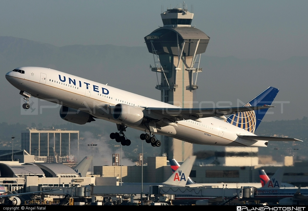 Boeing 777-200 - N778UA operated by United Airlines #b777 #boeing #boeing777 #tripleseven #unitedairlines