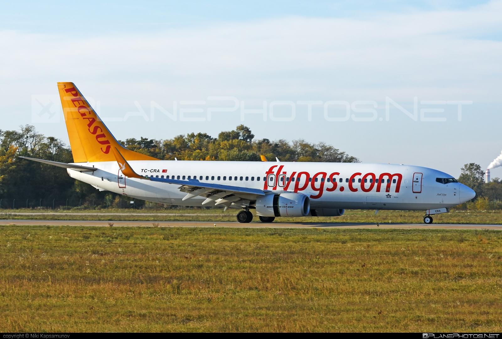 Boeing 737-800 - TC-CRA operated by Pegasus Airlines #b737 #b737nextgen #b737ng #boeing #boeing737