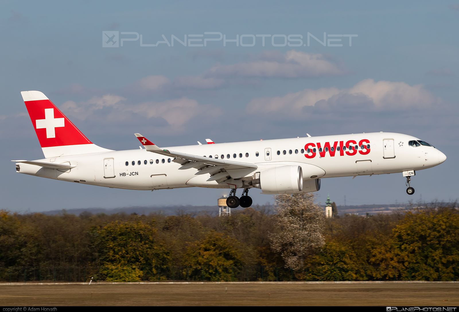 Airbus A220-300 - HB-JCN operated by Swissair #a220300 #a220family #airbus #cs300 #cseries #cseries300 #swissair