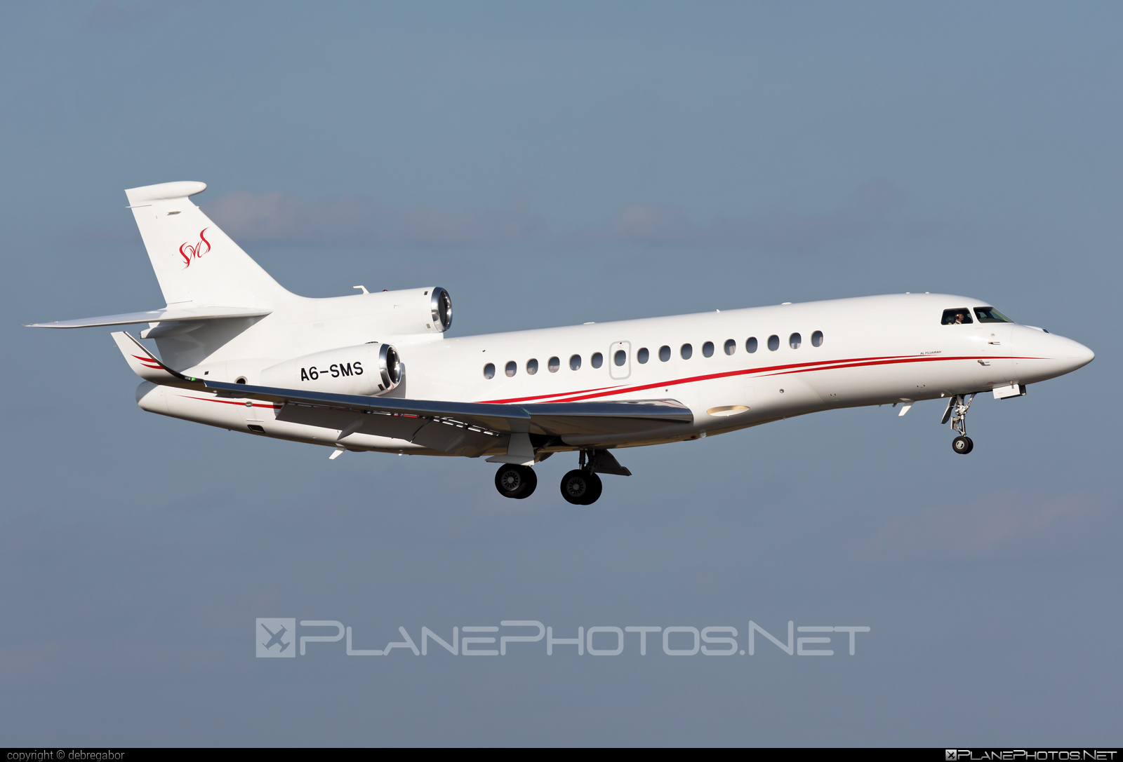 Dassault Falcon 8X - A6-SMS operated by Private operator #dassault #dassaultfalcon #dassaultfalcon8x #falcon8x