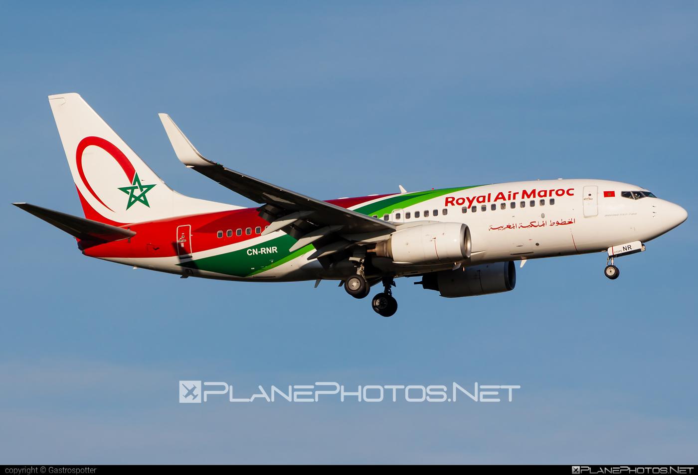 Boeing 737-700 - CN-RNR operated by Royal Air Maroc (RAM) #b737 #b737nextgen #b737ng #boeing #boeing737 #royalairmaroc