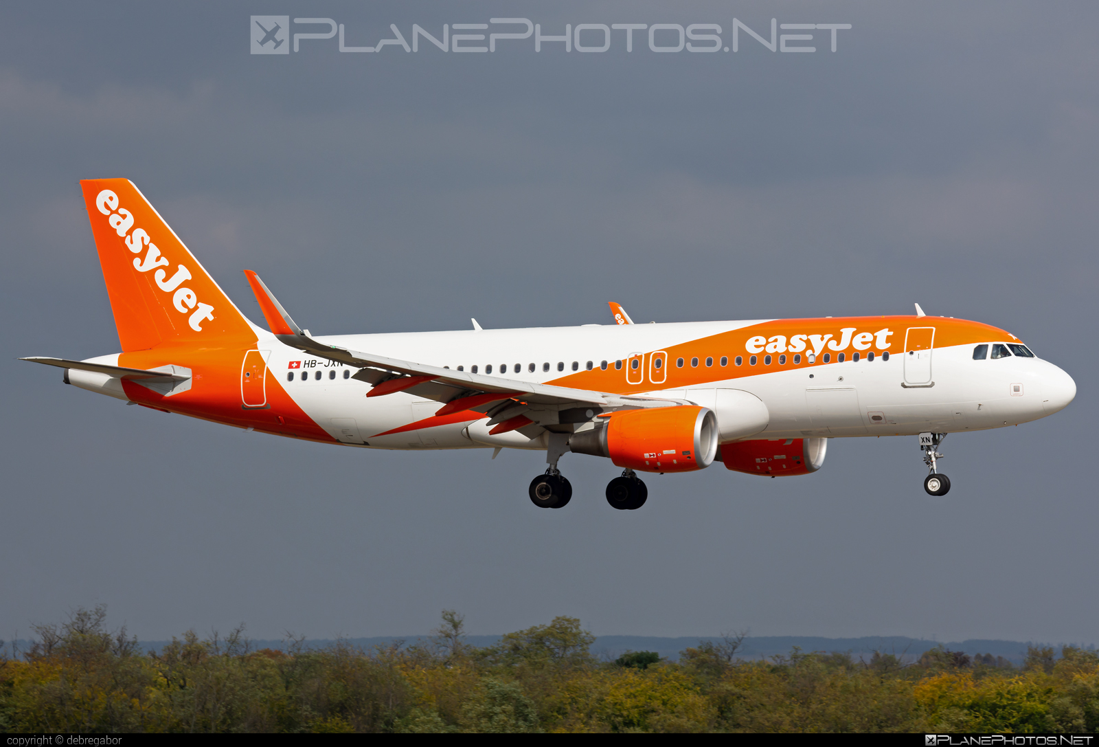 Airbus A320-214 - HB-JXN operated by easyJet Switzerland #a320 #a320family #airbus #airbus320 #easyjet #easyjetswitzerland