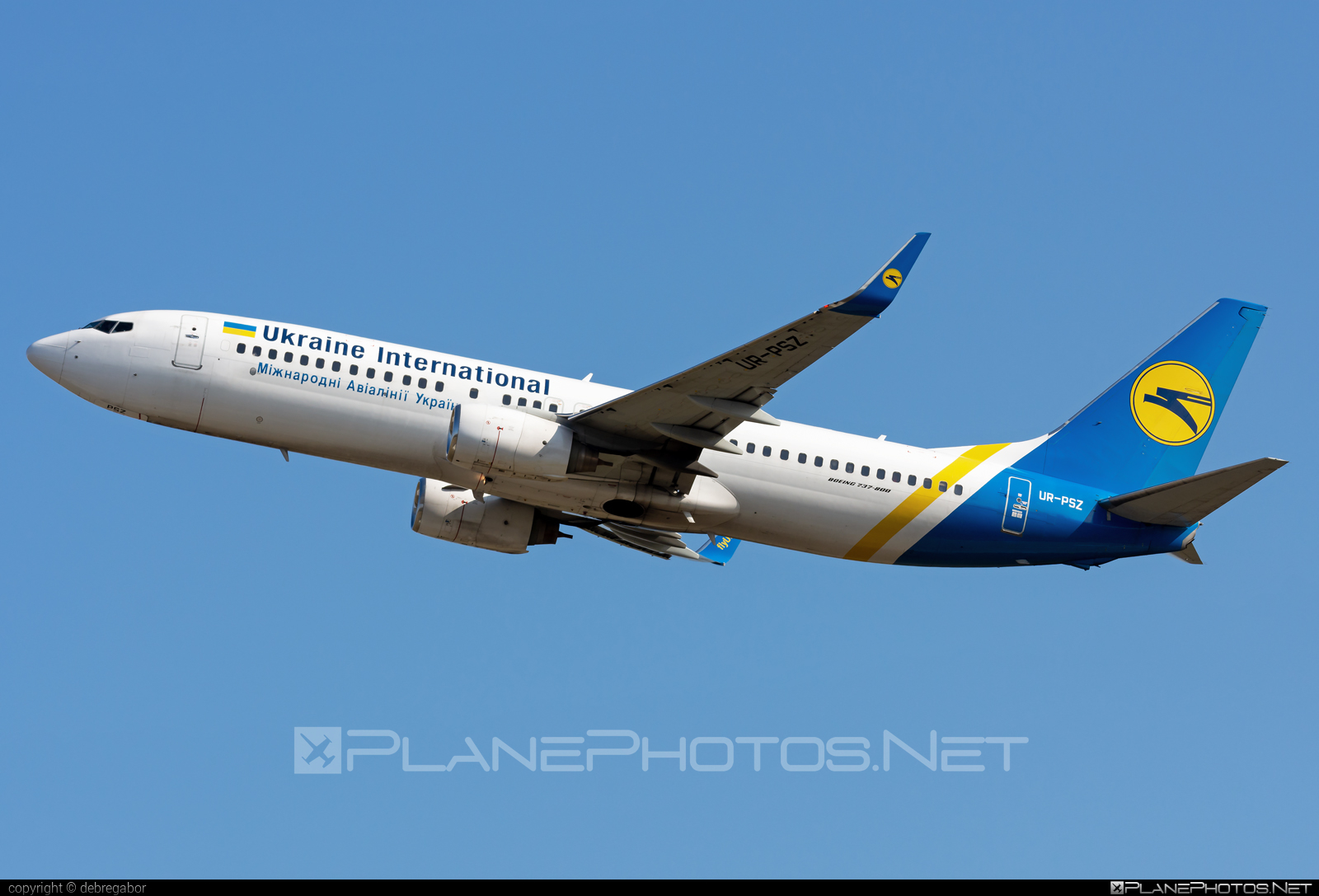 Boeing 737-800 - UR-PSZ operated by Ukraine International Airlines #b737 #b737nextgen #b737ng #boeing #boeing737 #uia #ukraineinternationalairlines