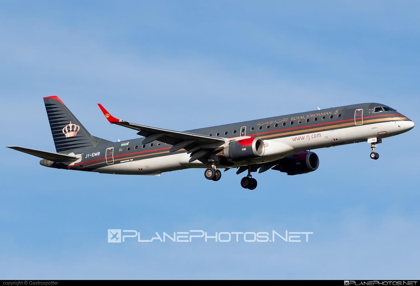 Embraer E195LR (ERJ-190-200LR) - JY-EMB operated by Royal Jordanian #e190 #e190200 #e190200lr #e195lr #embraer #embraer190200lr #embraer195 #embraer195lr