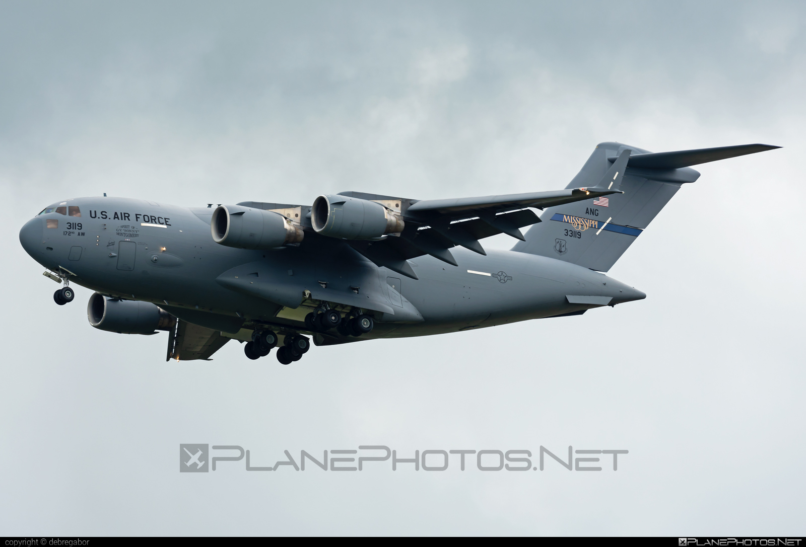Boeing C-17A Globemaster III - 03-3119 operated by US Air Force (USAF) #boeing #c17 #c17globemaster #globemaster #globemasteriii #usaf #usairforce
