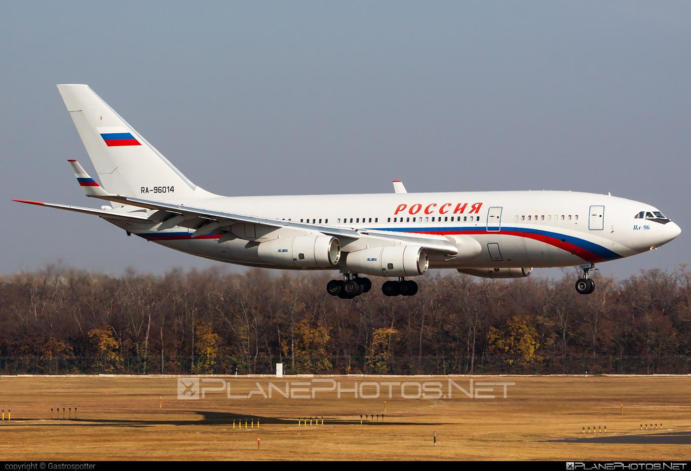 Ilyushin Il-96-300 - RA-96014 operated by Russia - Department of the Defense #il96 #il96300 #ilyushin