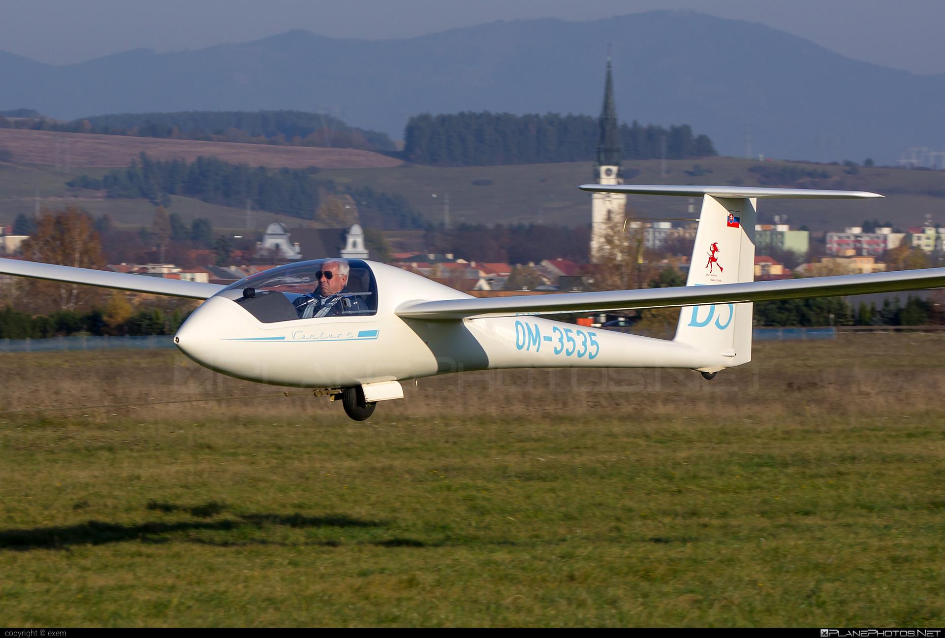 Schempp-Hirth Ventus c - OM-3535 operated by Private operator #schempphirth