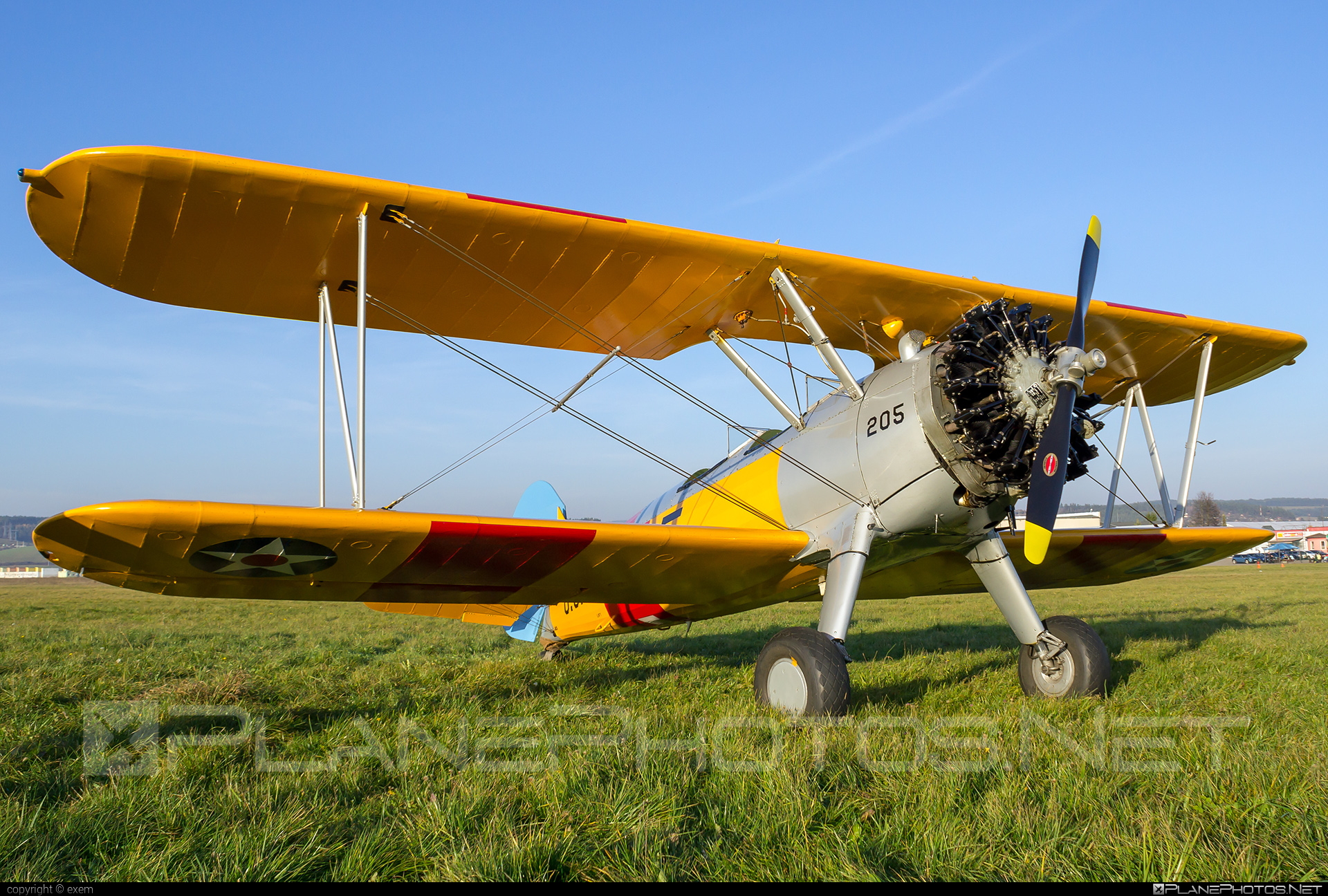 Boeing A75N1 Kaydet - G-BRUJ operated by Private operator #a75n1 #boeing #boeinga75n1 #boeingkaydet #boeingstearman #stearman
