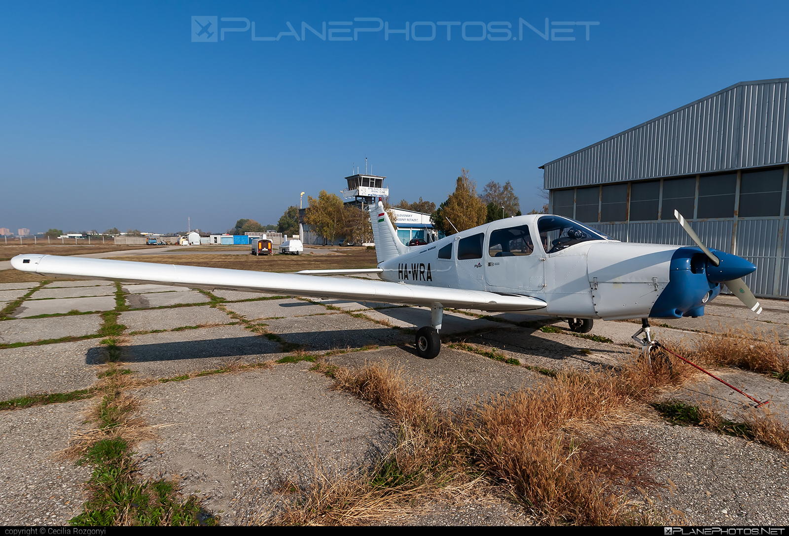 Piper PA-28-151 Cherokee Warrior - HA-WRA operated by Private operator #piper