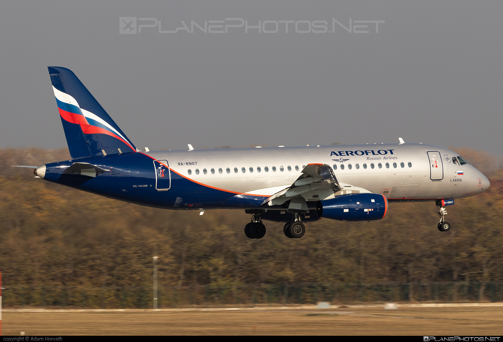 Sukhoi SSJ 100-95B Superjet - RA-89107 operated by Aeroflot #aeroflot #ssj100 #ssj10095b #sukhoi #sukhoisuperjet #superjet