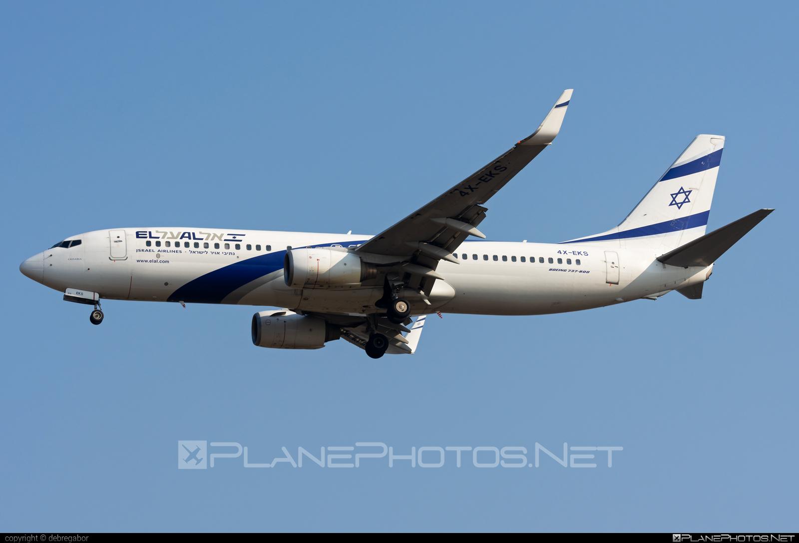 Boeing 737-800 - 4X-EKS operated by El Al Israel Airlines #b737 #b737nextgen #b737ng #boeing #boeing737 #elal #elalisraelairlines #israelairlines