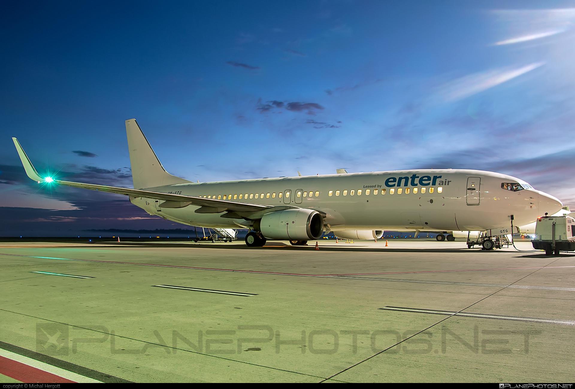 Boeing 737-800 - OM-GTG operated by Go2Sky #b737 #b737nextgen #b737ng #boeing #boeing737 #go2sky