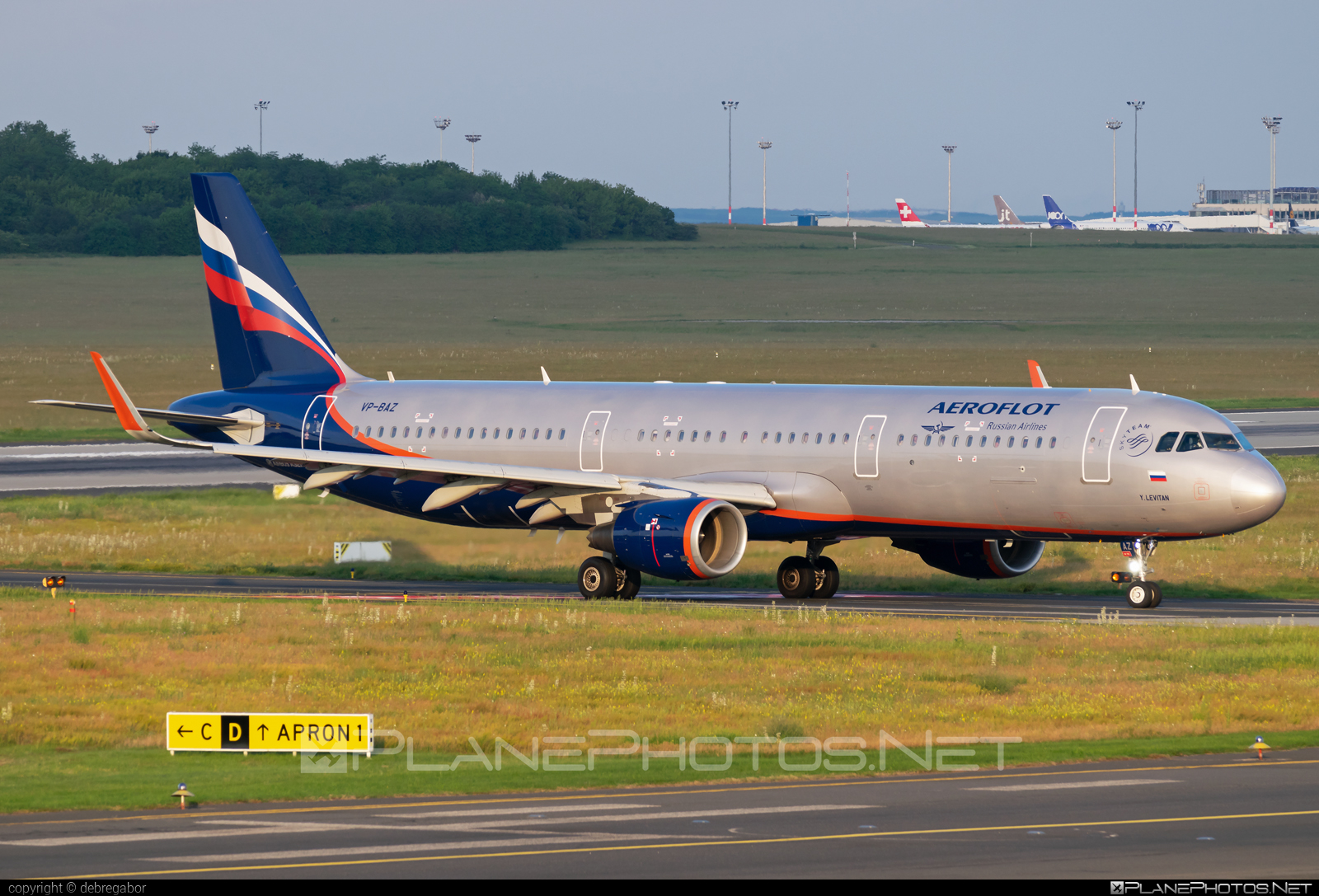 Airbus A321-211 - VP-BAZ operated by Aeroflot #a320family #a321 #aeroflot #airbus #airbus321
