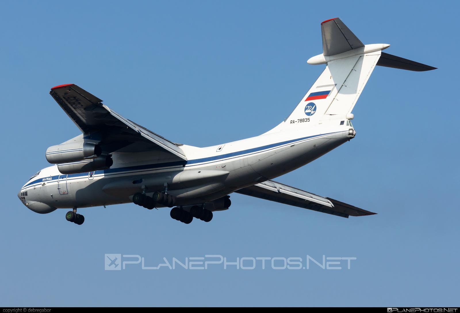 Ilyushin Il-76MD - RA-78835 operated by Voyenno-vozdushnye sily Rossii (Russian Air Force) #il76 #il76md #ilyushin
