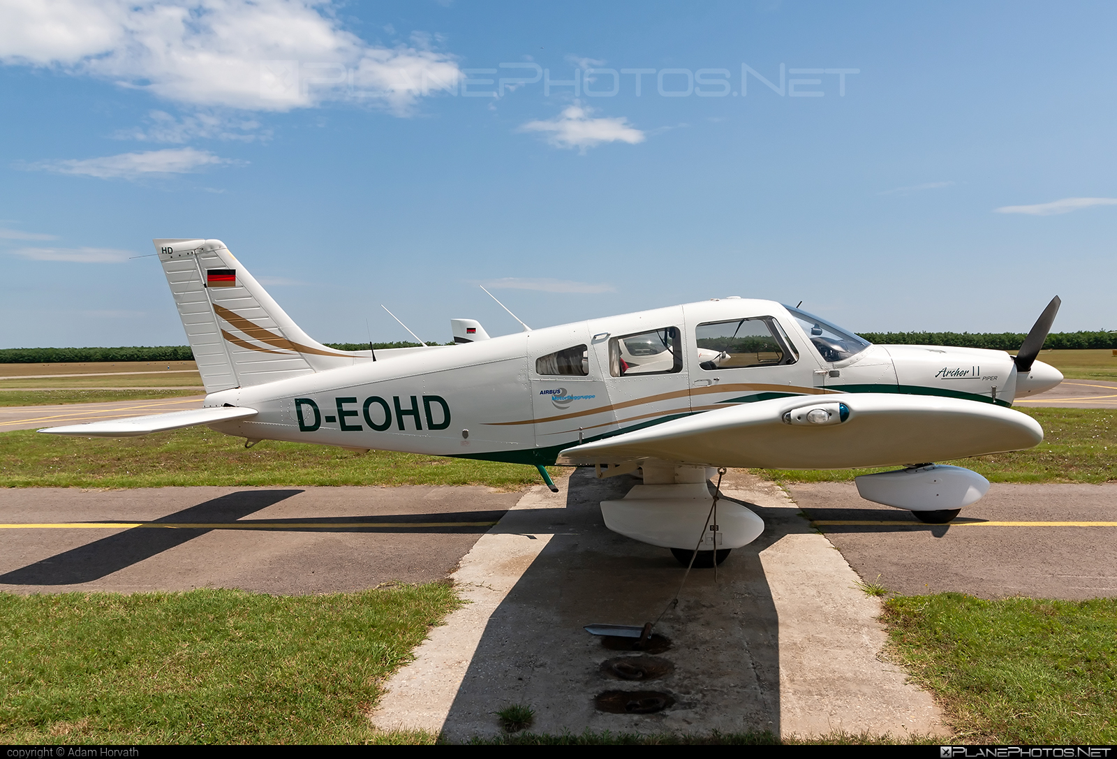 Piper PA-28-181 Archer II - D-EOHD operated by Private operator #pa28 #pa28181 #piper #piperarcher #piperarcherii