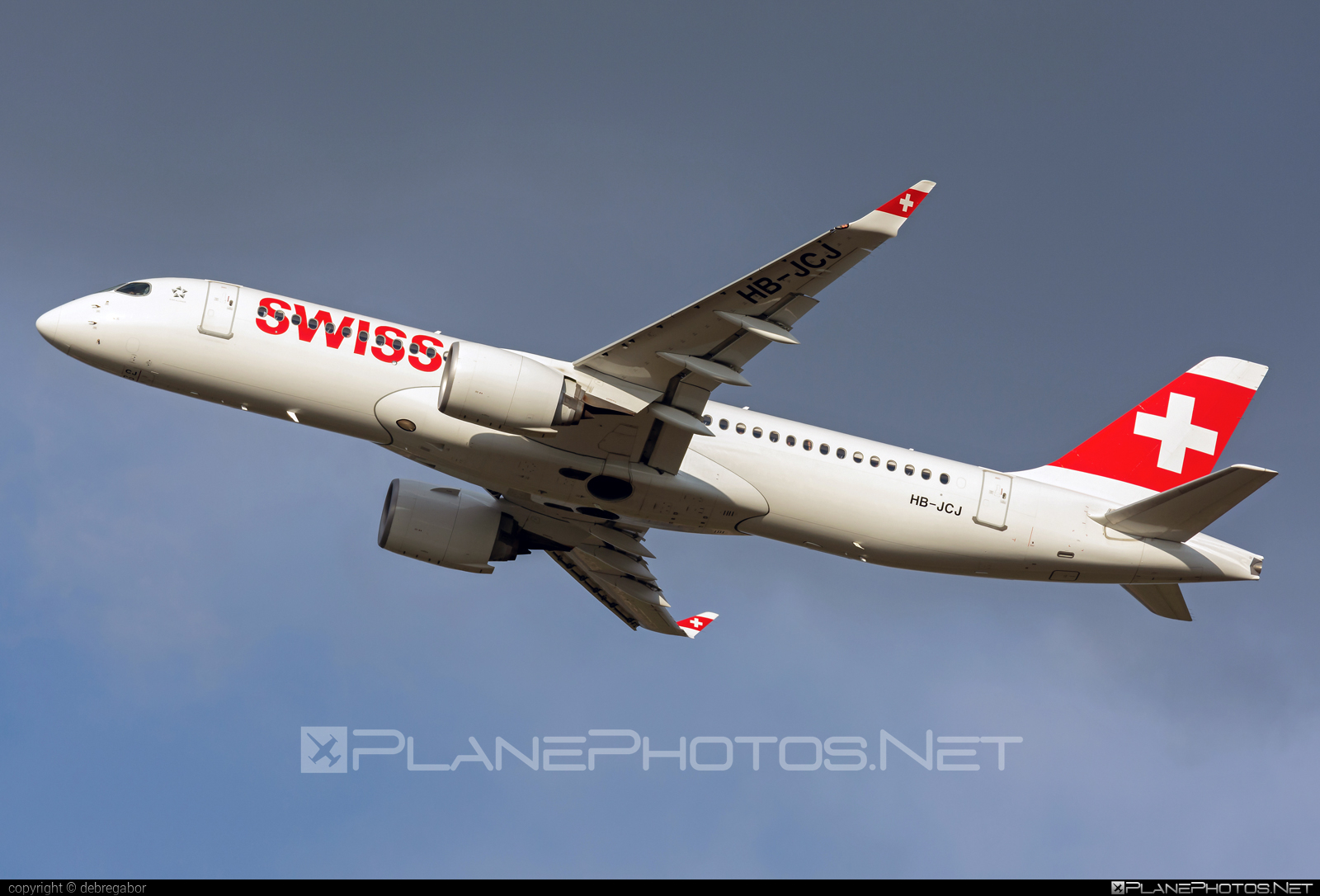 Airbus A220-300 - HB-JCJ operated by Swiss International Air Lines #a220300 #a220family #airbus #cs300 #cseries #cseries300 #swiss #swissairlines