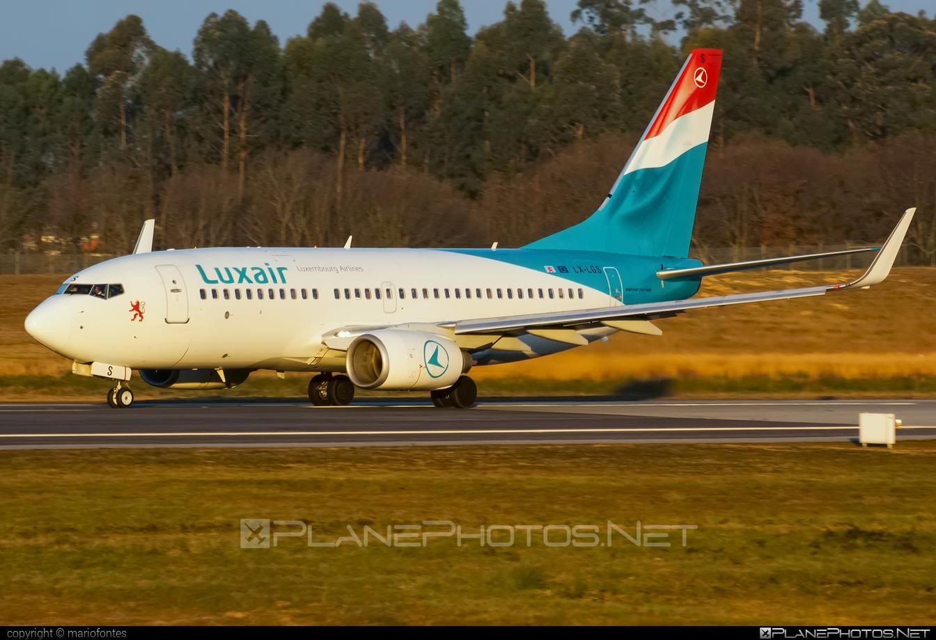 Boeing 737-700 - LX-LGS operated by Luxair #b737 #b737nextgen #b737ng #boeing #boeing737