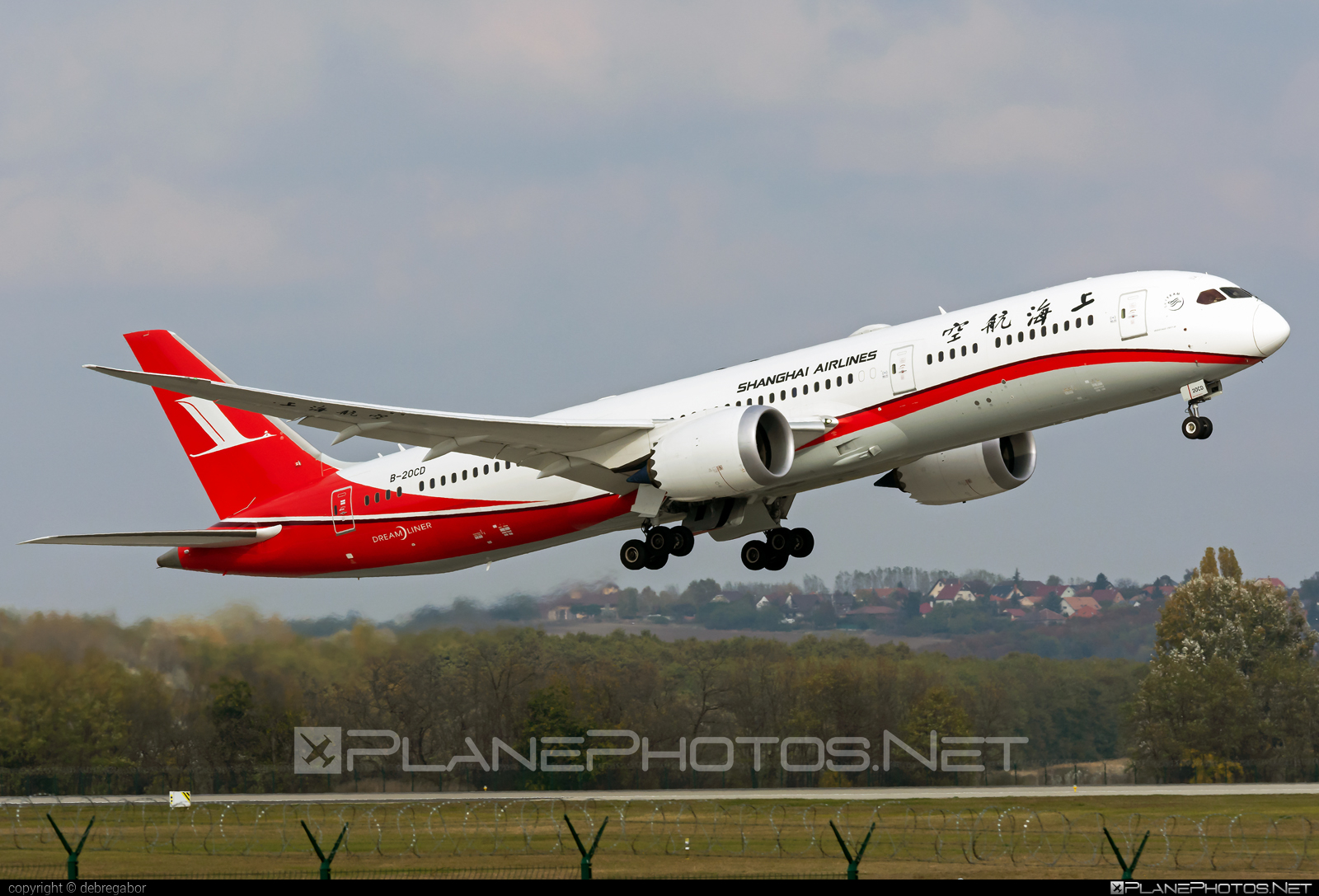 Boeing 787-9 Dreamliner - B-20CD operated by Shanghai Airlines #b787 #boeing #boeing787 #dreamliner
