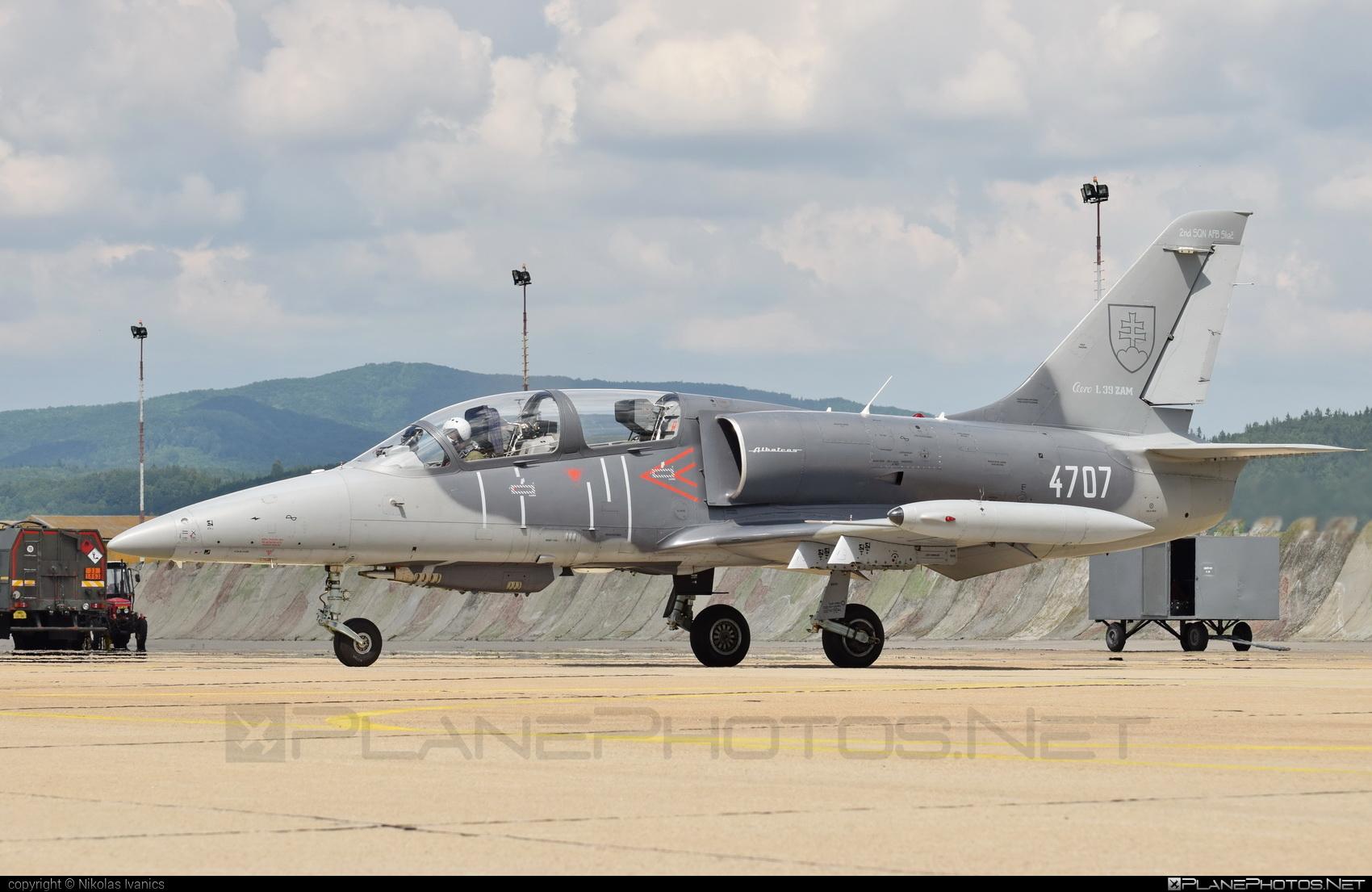 Aero L-39ZAM Albatros - 4707 operated by Vzdušné sily OS SR (Slovak Air Force) #aero #aerol39 #aerol39albatros #aerol39zamalbatros #albatros #l39 #l39zam #l39zamalbatros #slovakairforce #vzdusnesilyossr