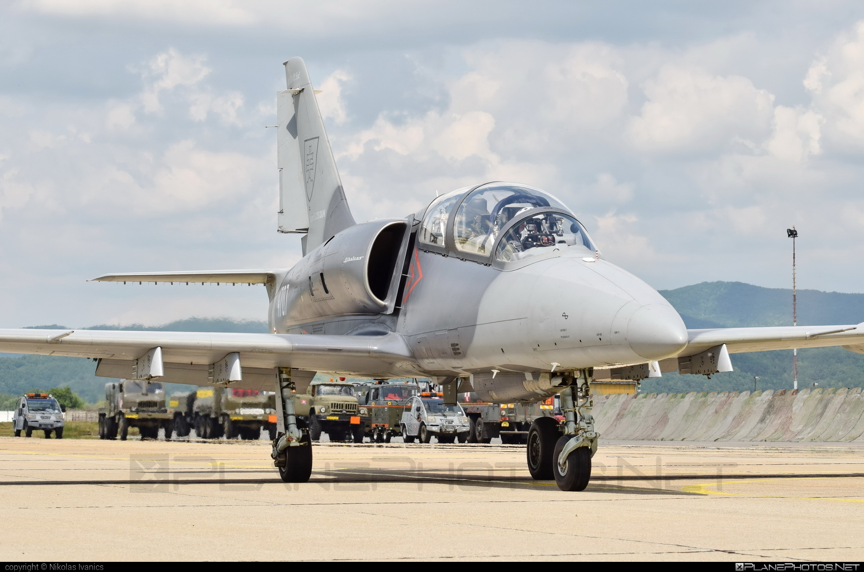 Aero L-39ZAM Albatros - 4707 operated by Vzdušné sily OS SR (Slovak Air Force) #aero #slovakairforce #vzdusnesilyossr