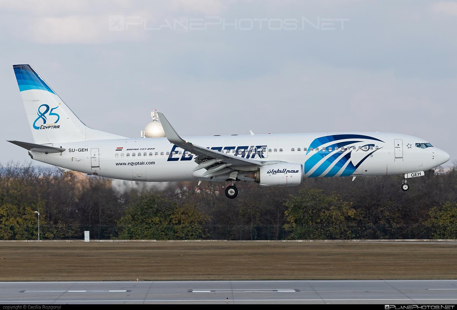 Boeing 737-800 - SU-GEH operated by EgyptAir #b737 #b737nextgen #b737ng #boeing #boeing737