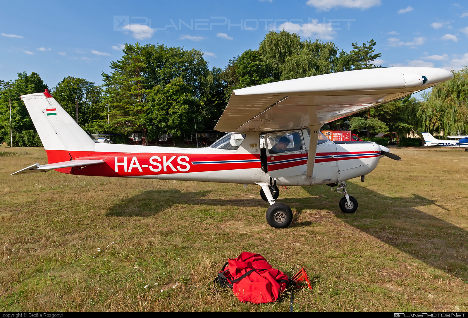 Cessna 152 II - HA-SKS operated by Private operator #cessna #cessna152 #cessna152ii