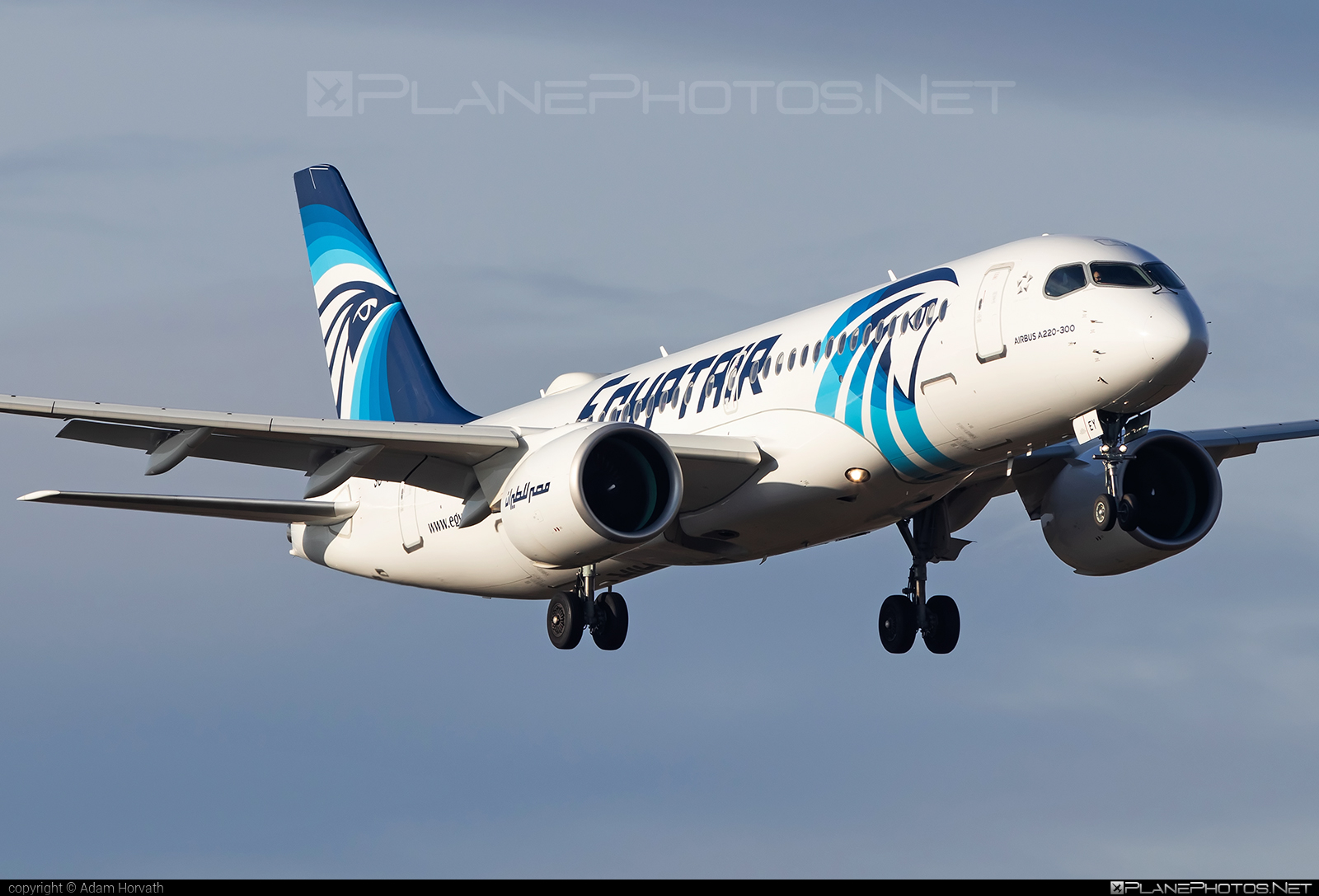 Airbus A220-300 - SU-GEY operated by EgyptAir #a220300 #a220family #airbus #cs300 #cseries #cseries300